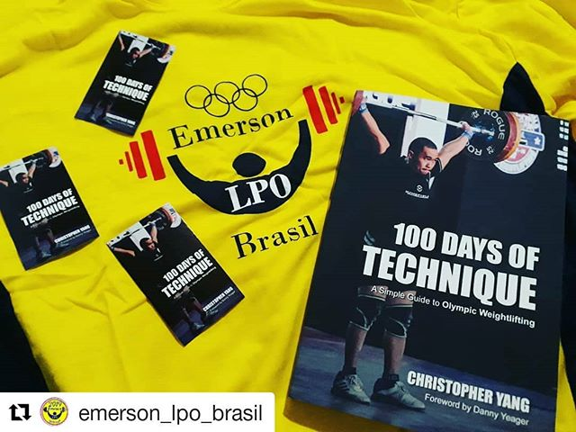 #Repost @emerson_lpo_brasil (@get_repost) ・・・ come and give the best of Olympic weightlifting. acquiring knowledge is never too much. is the best book on the market. purchased your book soon www.100daysoftechnique.com 👉 Follow @kingfieldbarbell #weightliftingmotivation#emerson_lpo_brasil @emerson_lpo_brasil