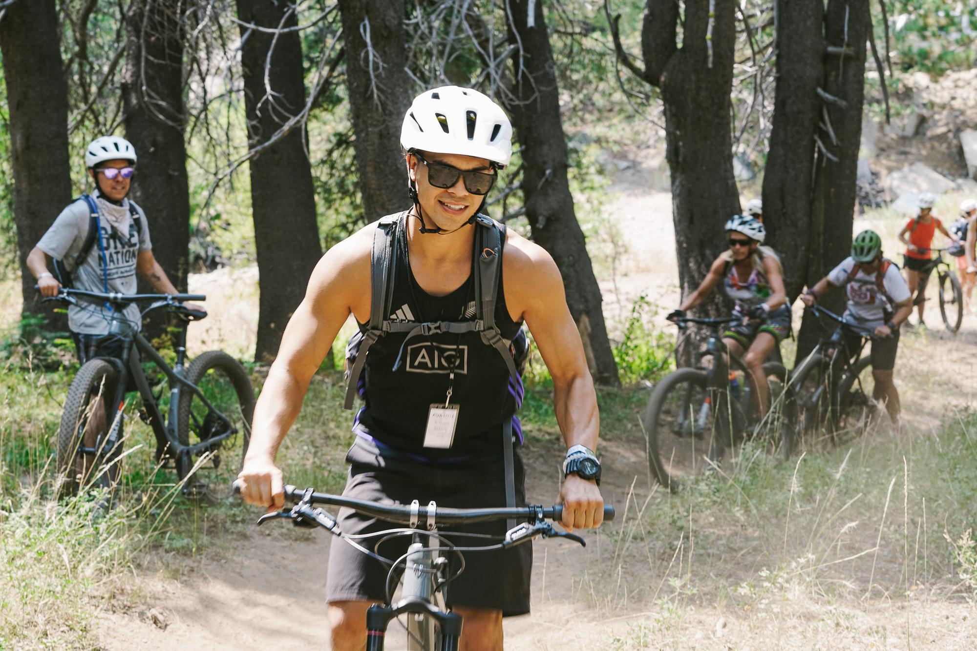 Mountain Biking -