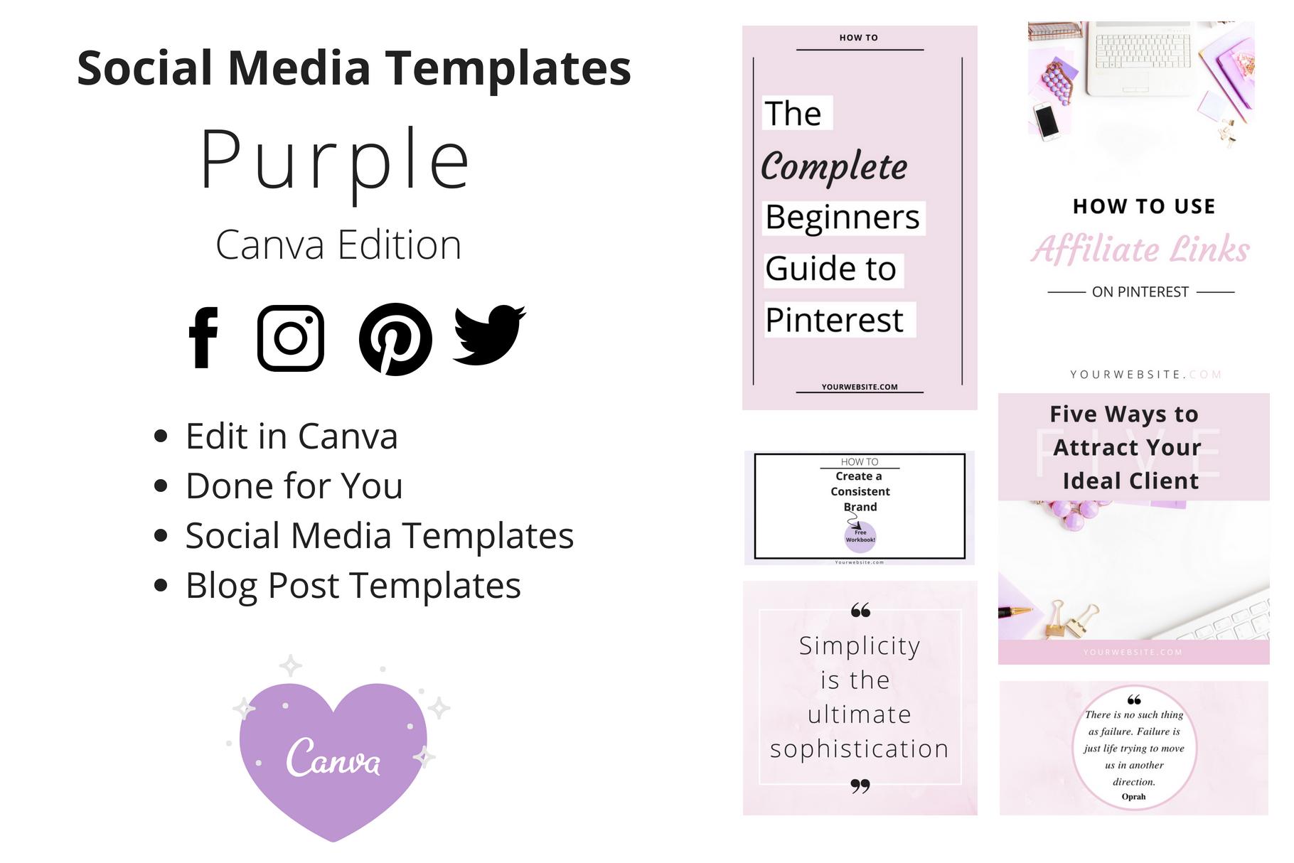 Pinterest Templates    Instagram Templates    Twitter/Facebook    Instagram Stories Templates