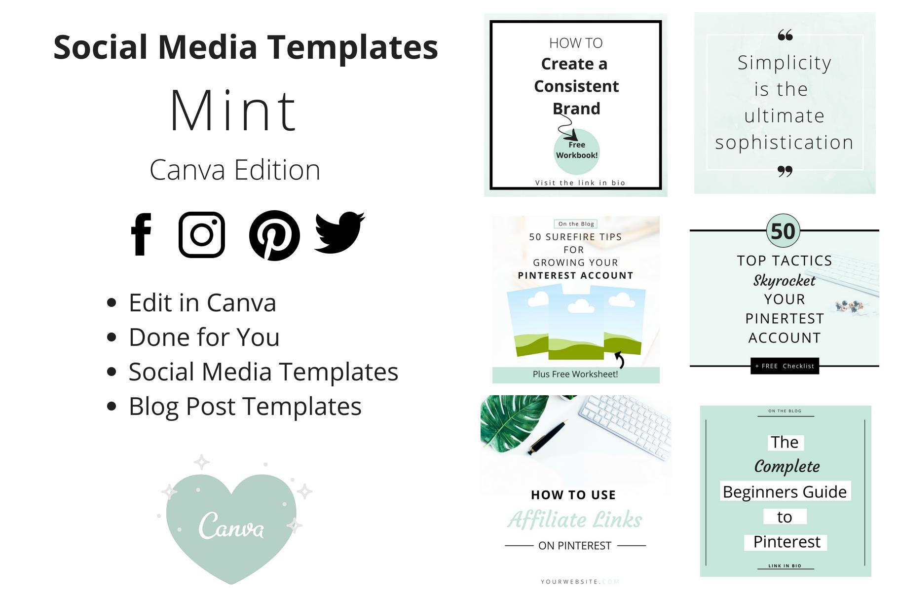 Pinterest Templates    Instagram Templates    Twitter    Facebook    Blog