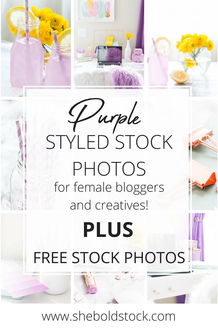 Stock photography for bloggers and creatives!