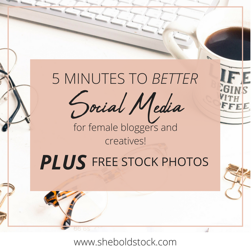 5 Minutes to better social media graphics