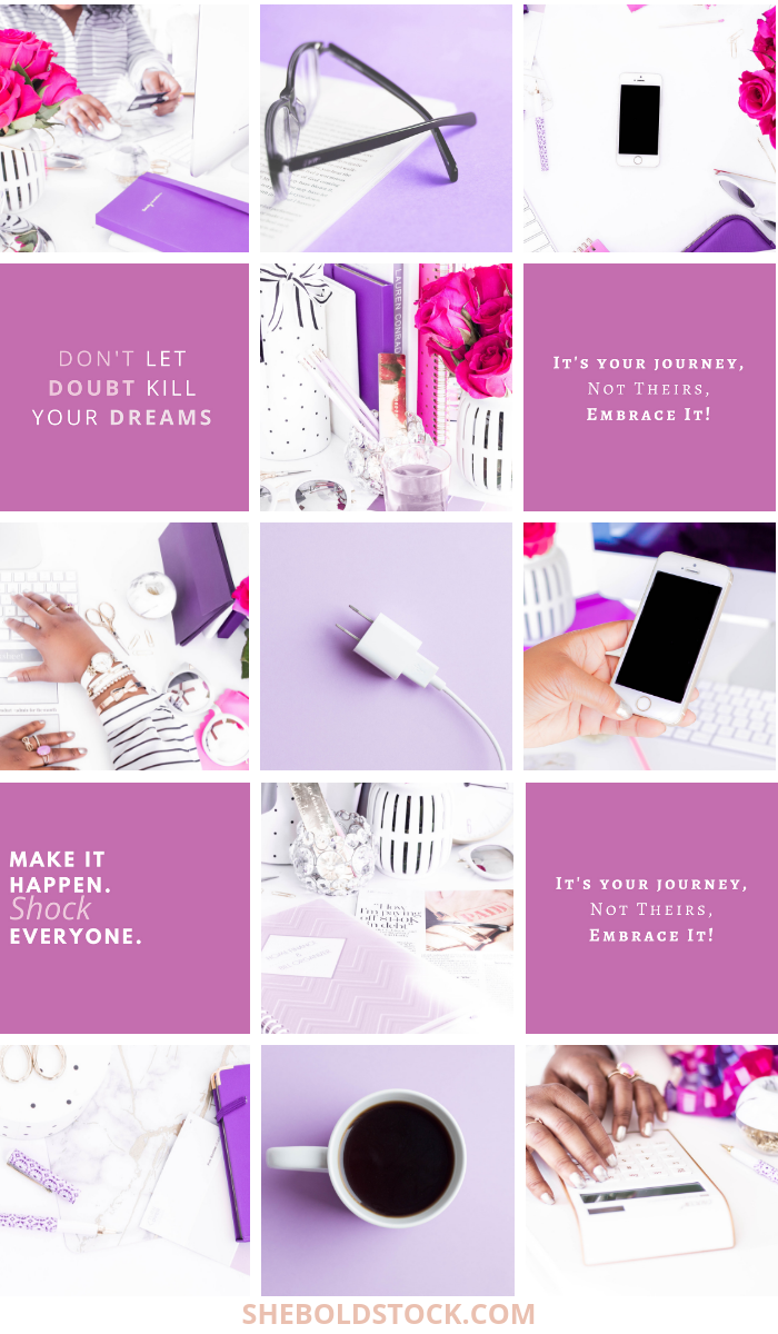 purple and pink boss babe style stock photos for women entrepreneurs.png