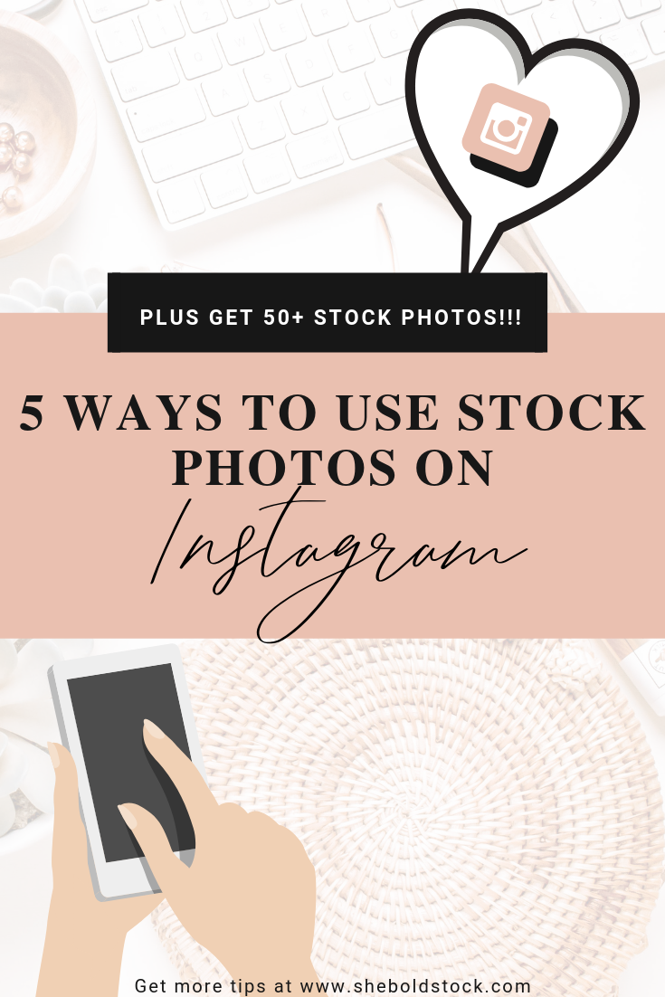 How to use stock photos for Instagram