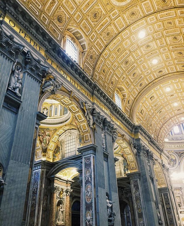 We still can't believe how beautiful the Vatican city was. 😍 We were both blow away by St. Peter's Basilica and the immense detail and thought that went into every inch of the church and the surrounding city. 😯❤️ . . . #globalwanderer #travelscape #passportpassion #travelcouplelife #travelcoupleblogger #travelcouplegoals #creativetravelcouples #traveltheworldwithme #newbloggers #microblogger #bloggergram #photographylovers💕💕 #photographygoals #travelphotographyoftheday #aroundtheworldpics #beautifuldestinations #travellinglife #happytraveller #discovernewplaces #wanderaround #minnesotablogger #mplsblogger