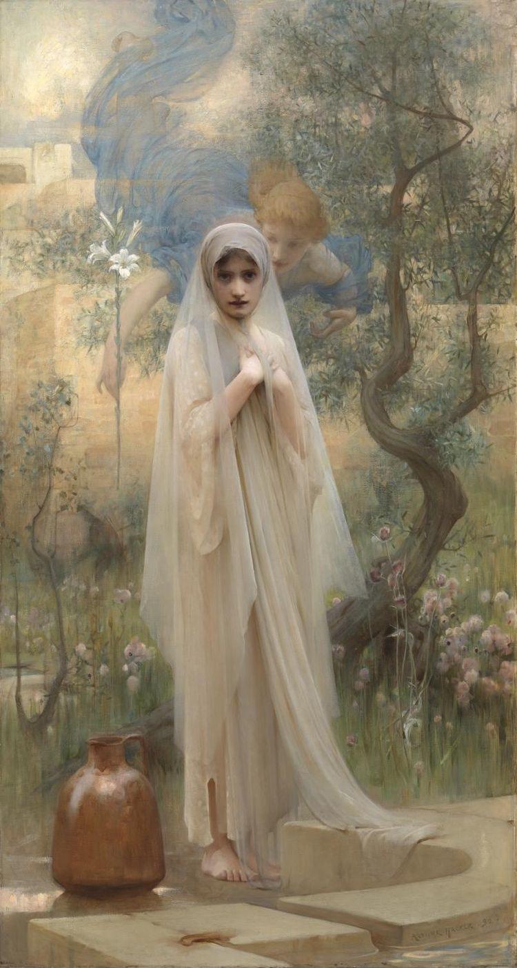 'The Annunciation',Arthur Hacker, 1892