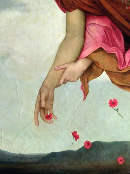 Evelyn De Morgan - Night and Sleep, 1878 (detail)