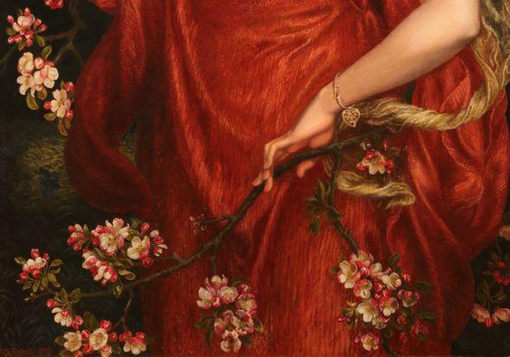 A Vision of Fiammetta -Dante Gabriel Rossetti