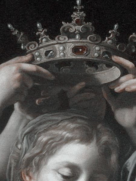 : Bartolomeo Cavarozzi - Virgin and Child with Angels