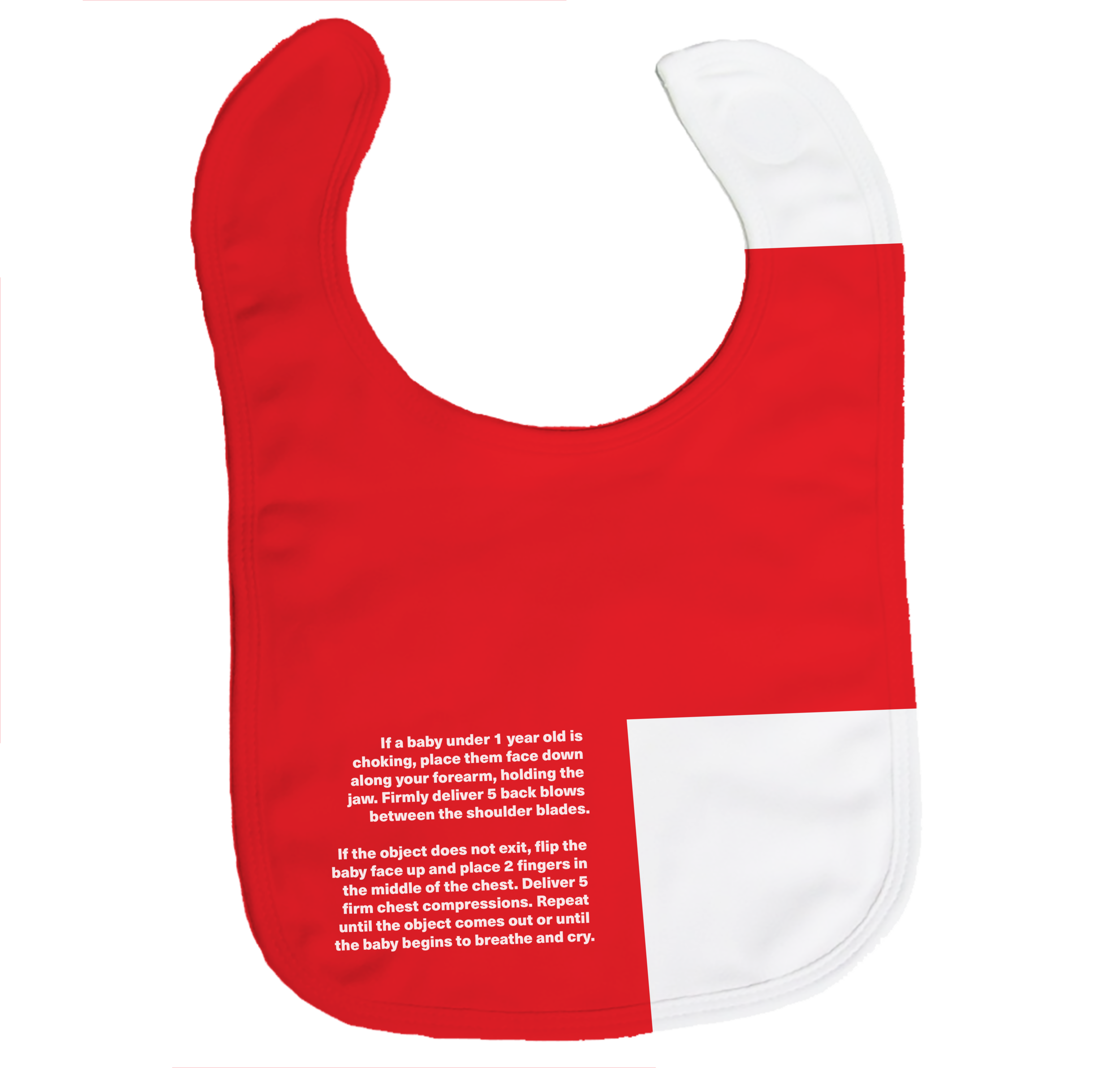 Safety Bib. - Teaches you how to help a baby who is choking.