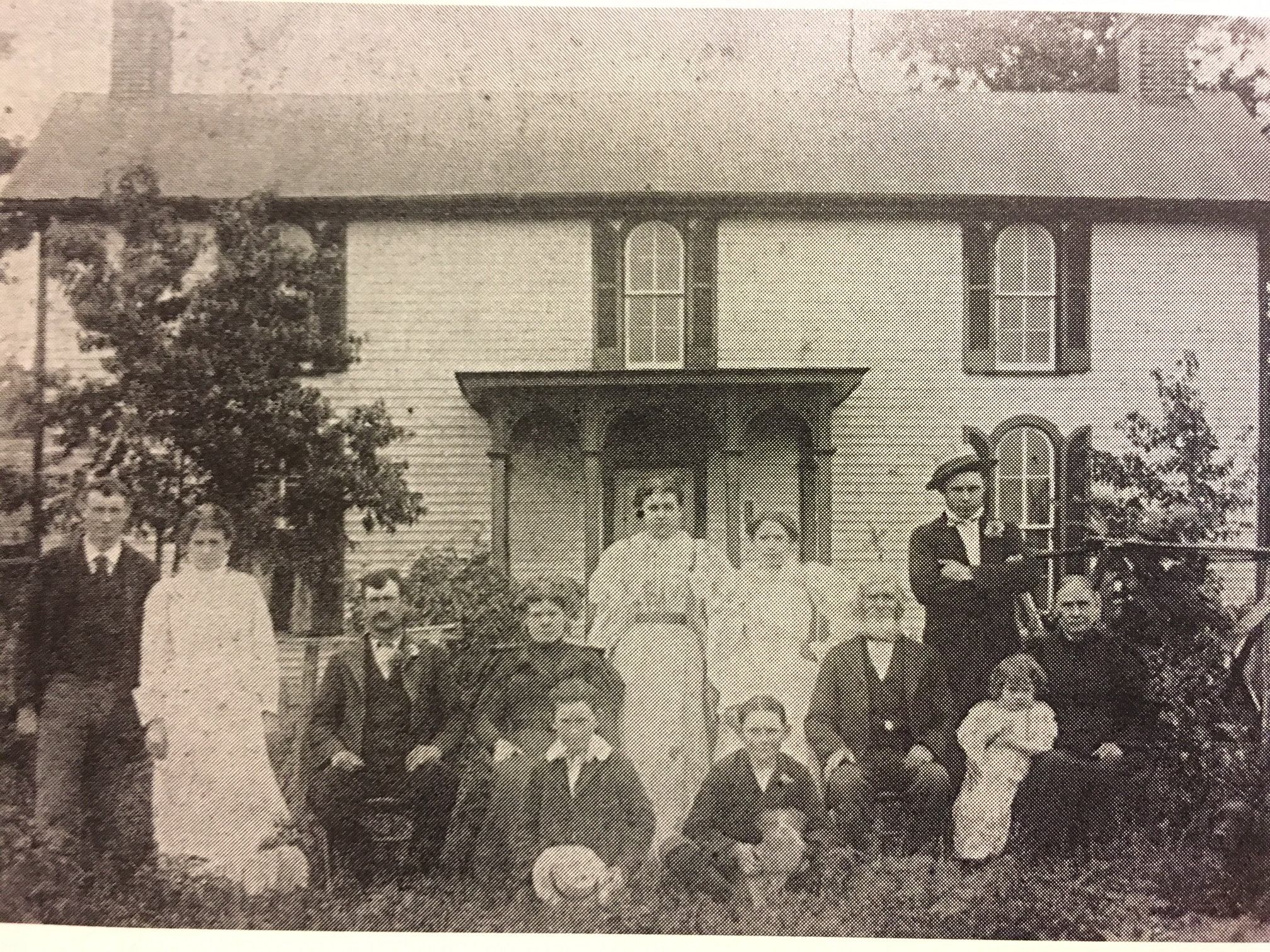 6 generations -        AJ's great-great-great grandfather and family.           Photographed in the 1870's in Mount Pleasant, TN.