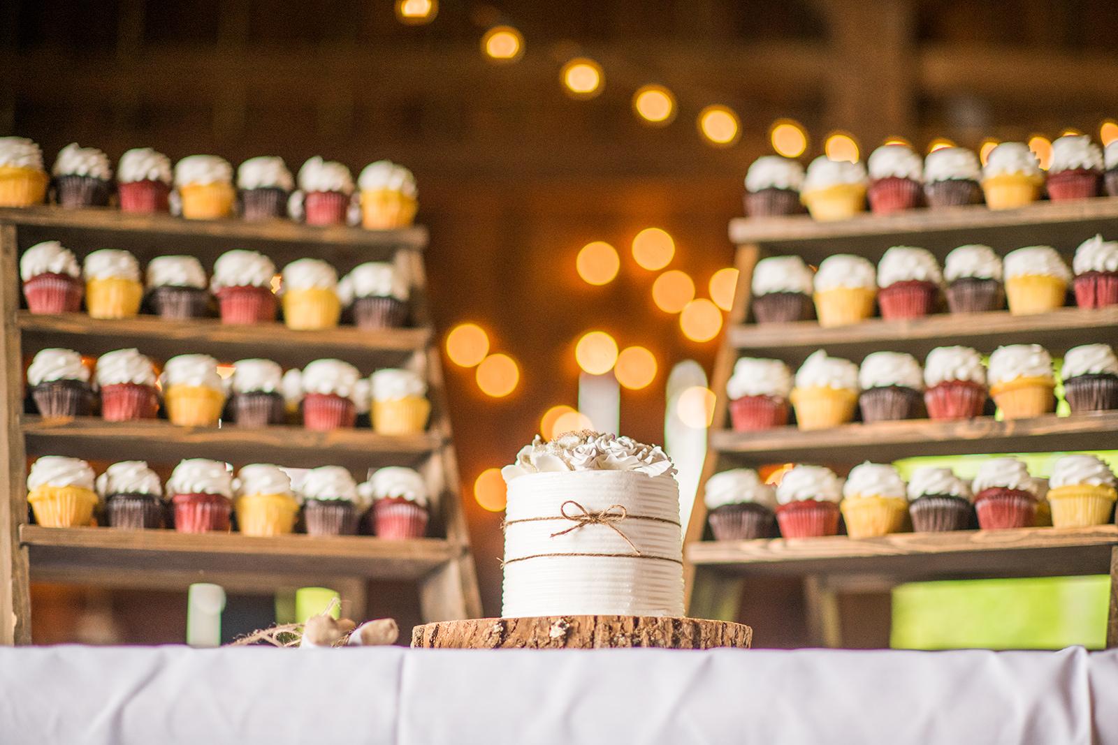Armstrong Farms Barn Wedding Cupcake Display_Krystal Healy Photography.jpg