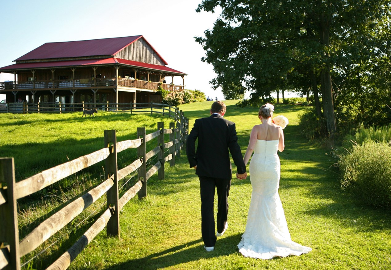Armstrong Farms Westminster Preserve Barn Wedding with Fence.jpg