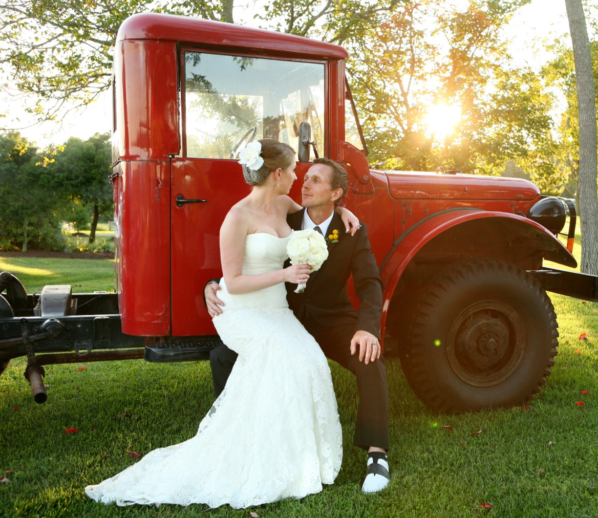 Armstrong Farms Westminster Preserve Barn Wedding with Vintage Truck.jpg