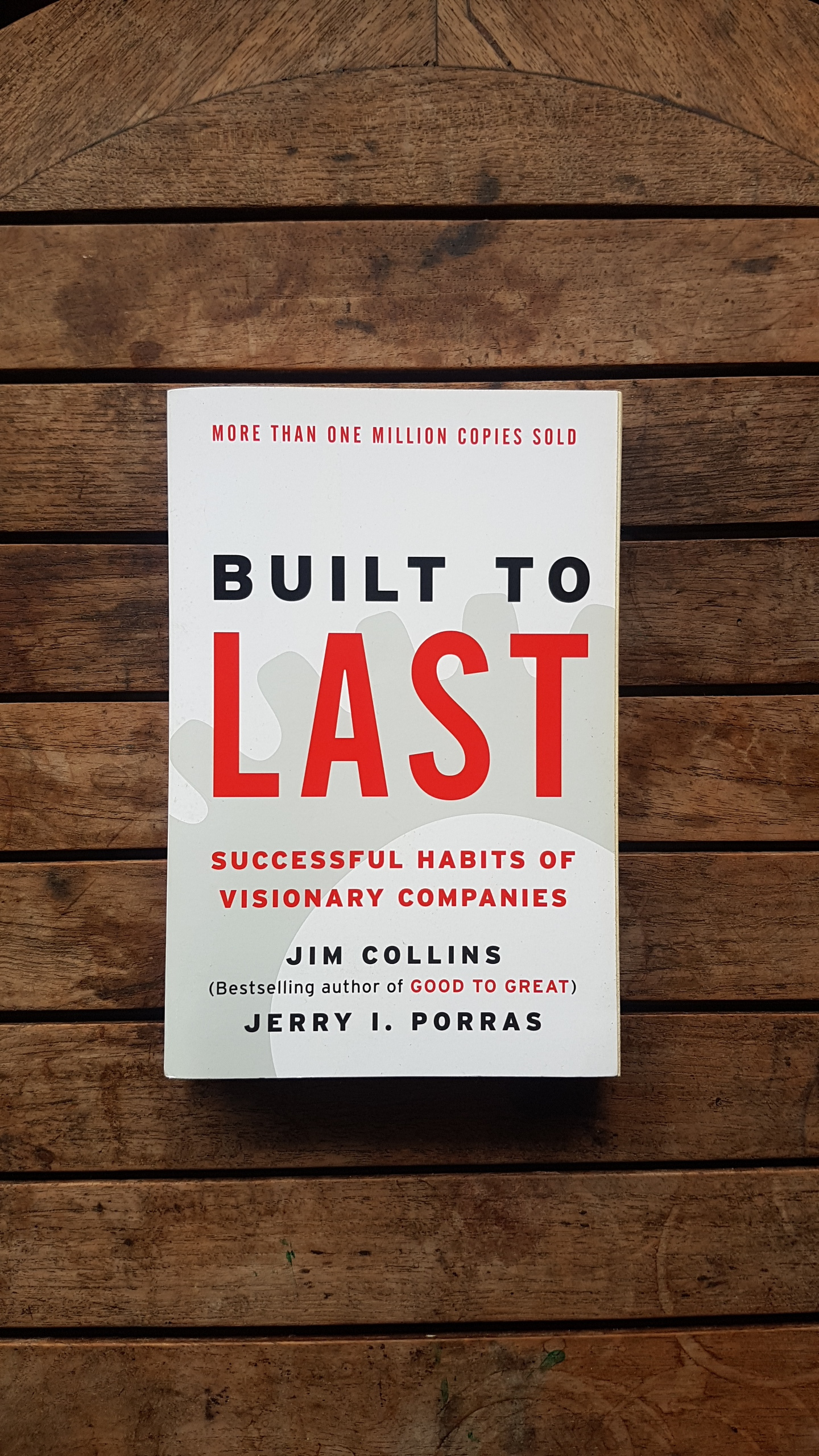 Built to Last: Successful Habits of Visionary Companies (Harper Business Essentials)   by Jim Collins