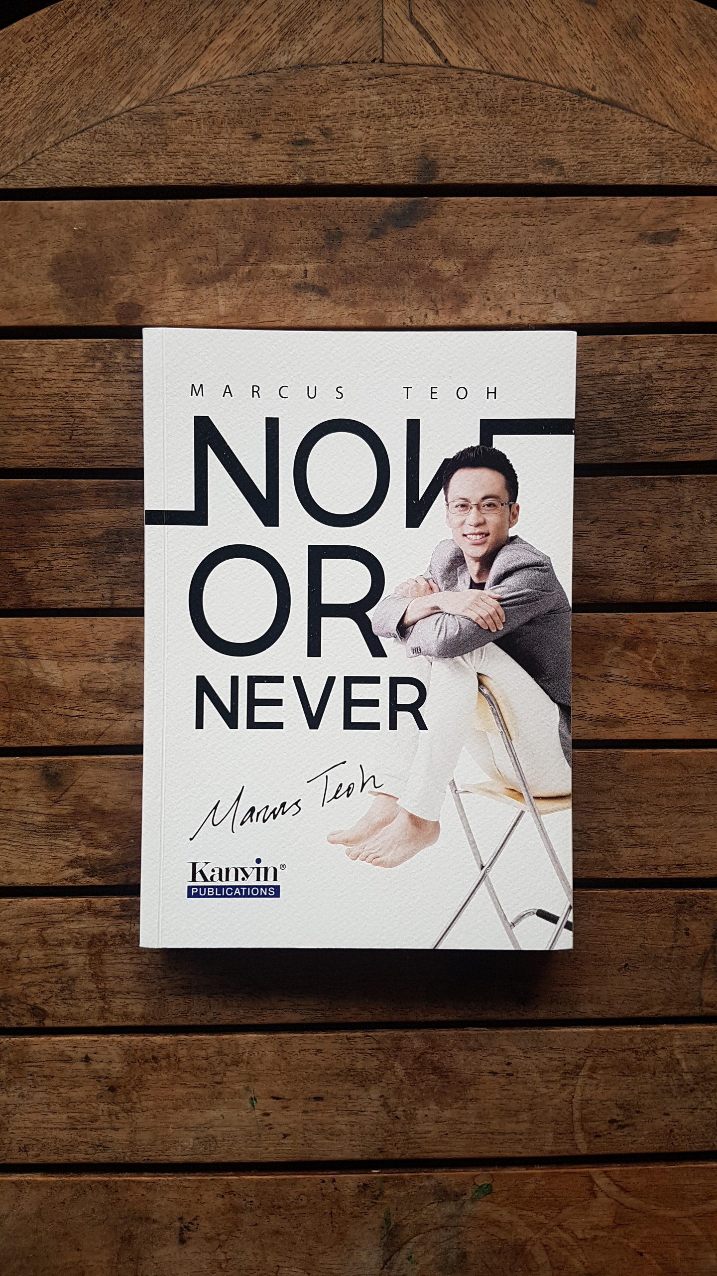 Now or Never by Marcus Teoh