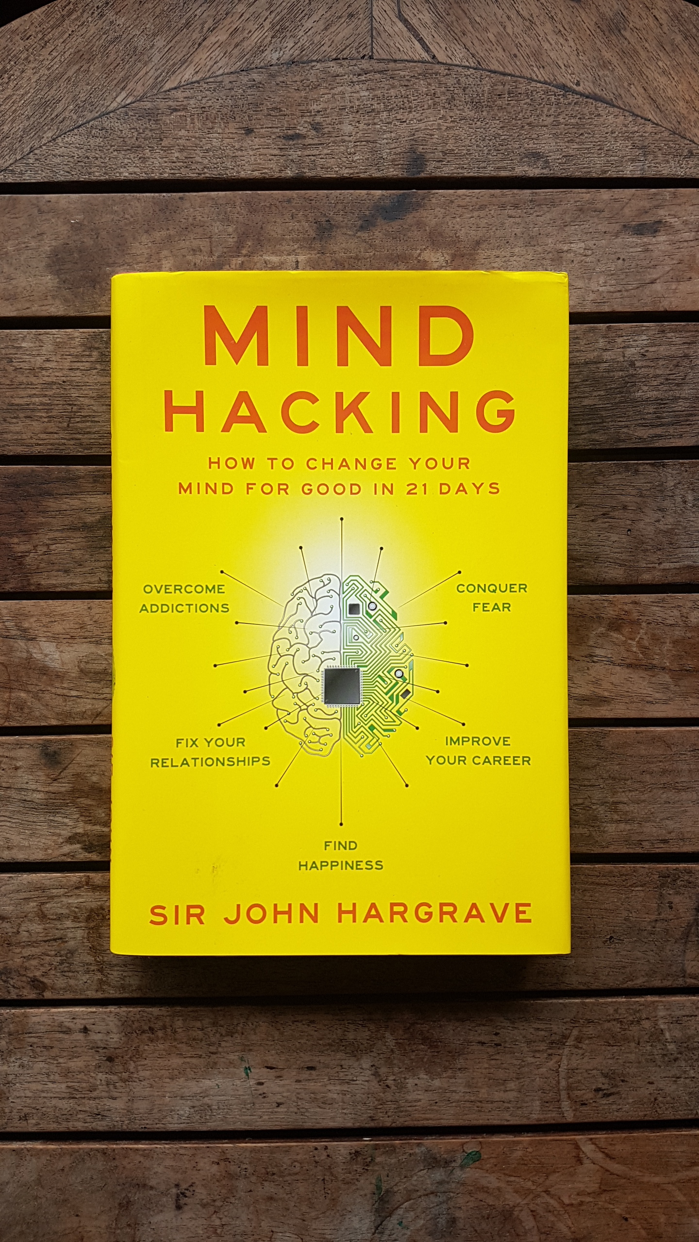 Mind Hacking: How to Change Your Mind for Good in 21 Days   by John Hargrave