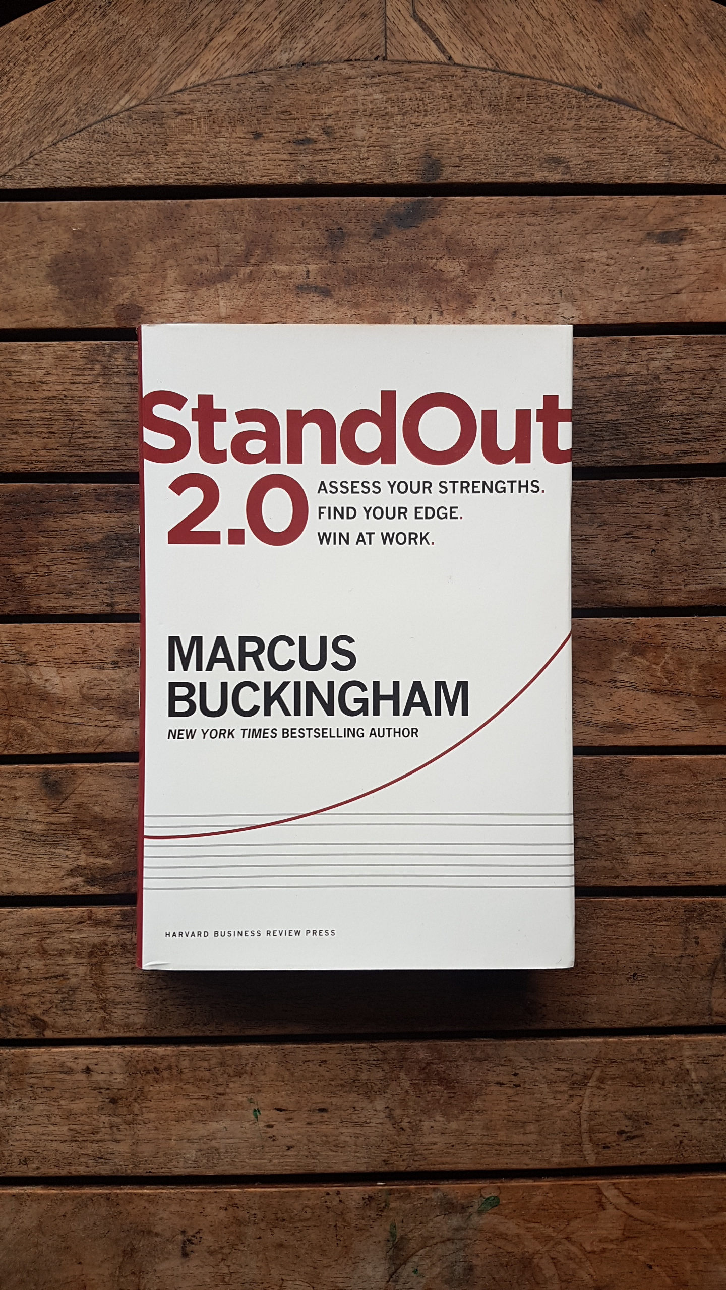 StandOut 2.0: Assess Your Strengths, Find Your Edge, Win at Work   by Marcus Buckingham