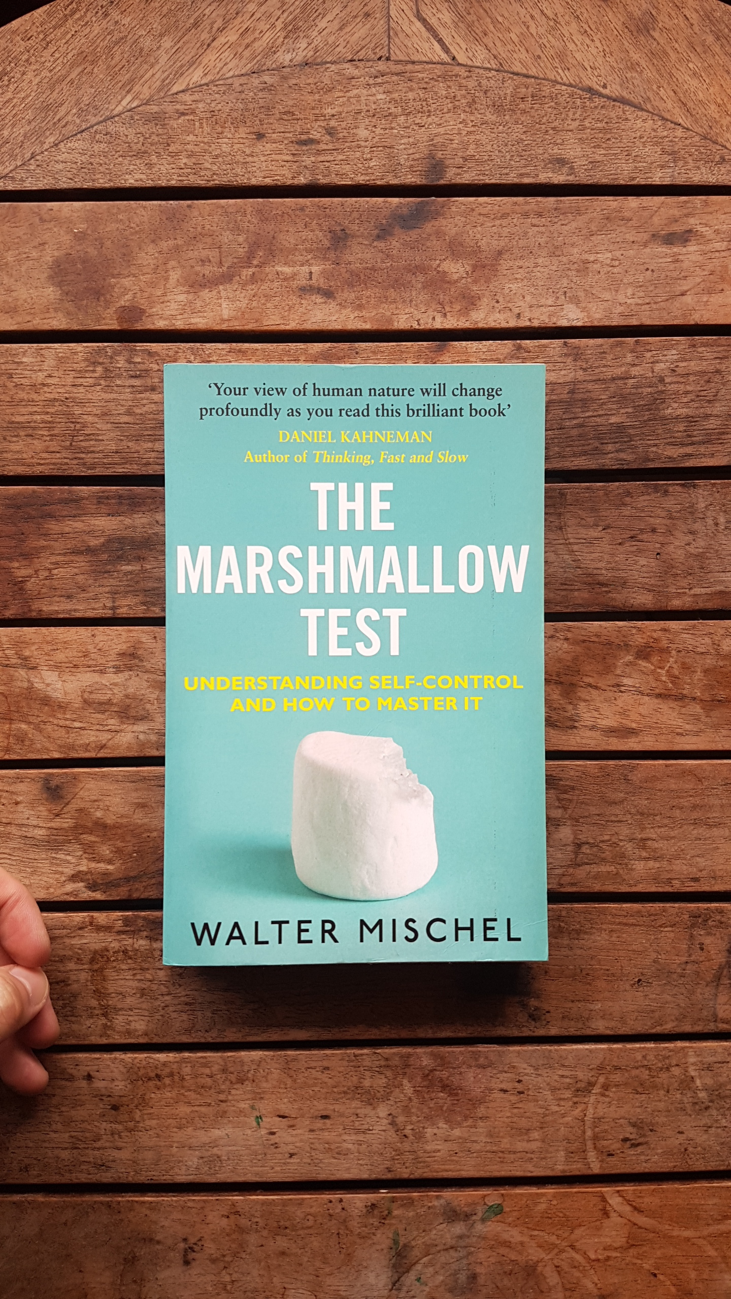 The Marshmallow Test: Why Self-Control Is the Engine of Success   by Walter Mischel