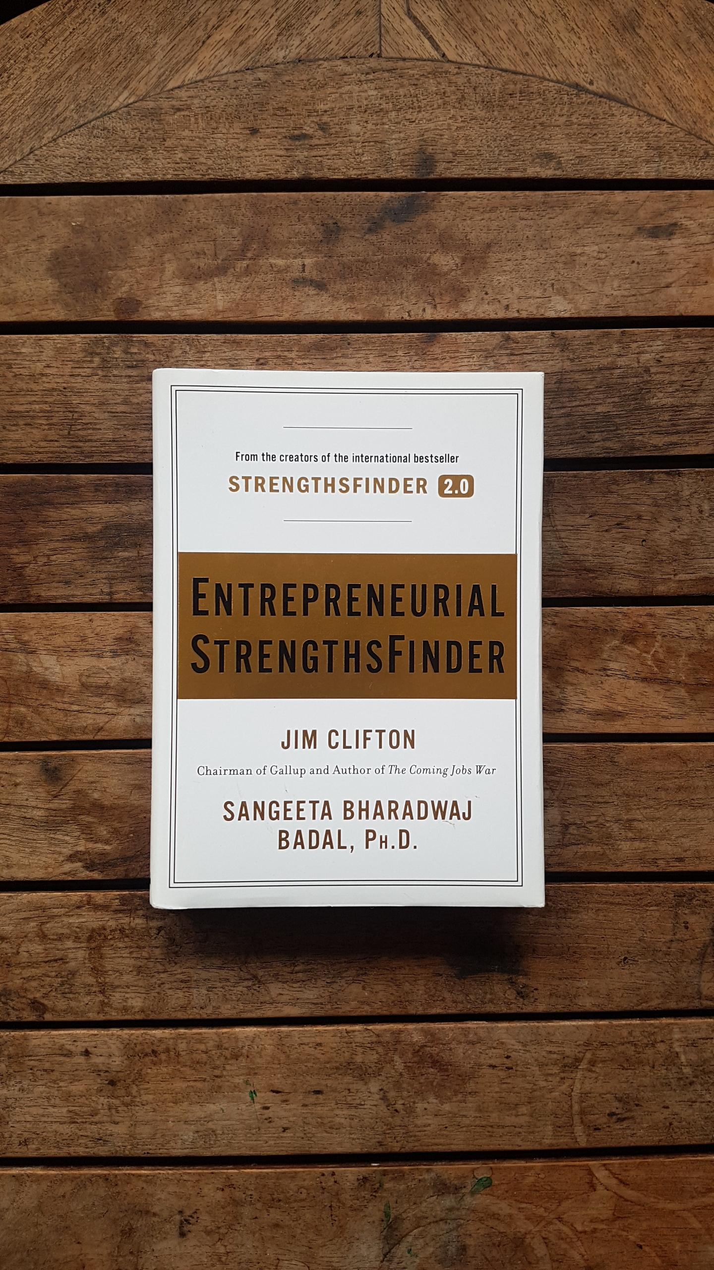 Entrepreneurial StrengthsFinder   by Jim Clifton