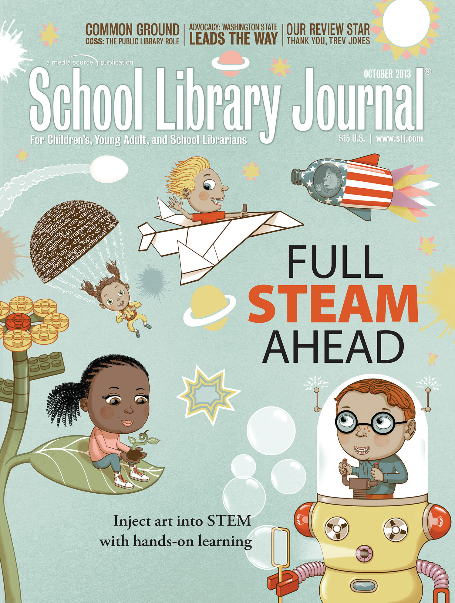 - STEAM - Science, Technology, Engineering, Art & Math. Instead of teaching subjects in isolation, an approach that merges these various methodologies within a single lesson or unit can be a more meaningful and effective way for kids to learn. It's about seeing subjects from a variety of perspectives, resulting in new insights and connecting the dots. In other words… fun.