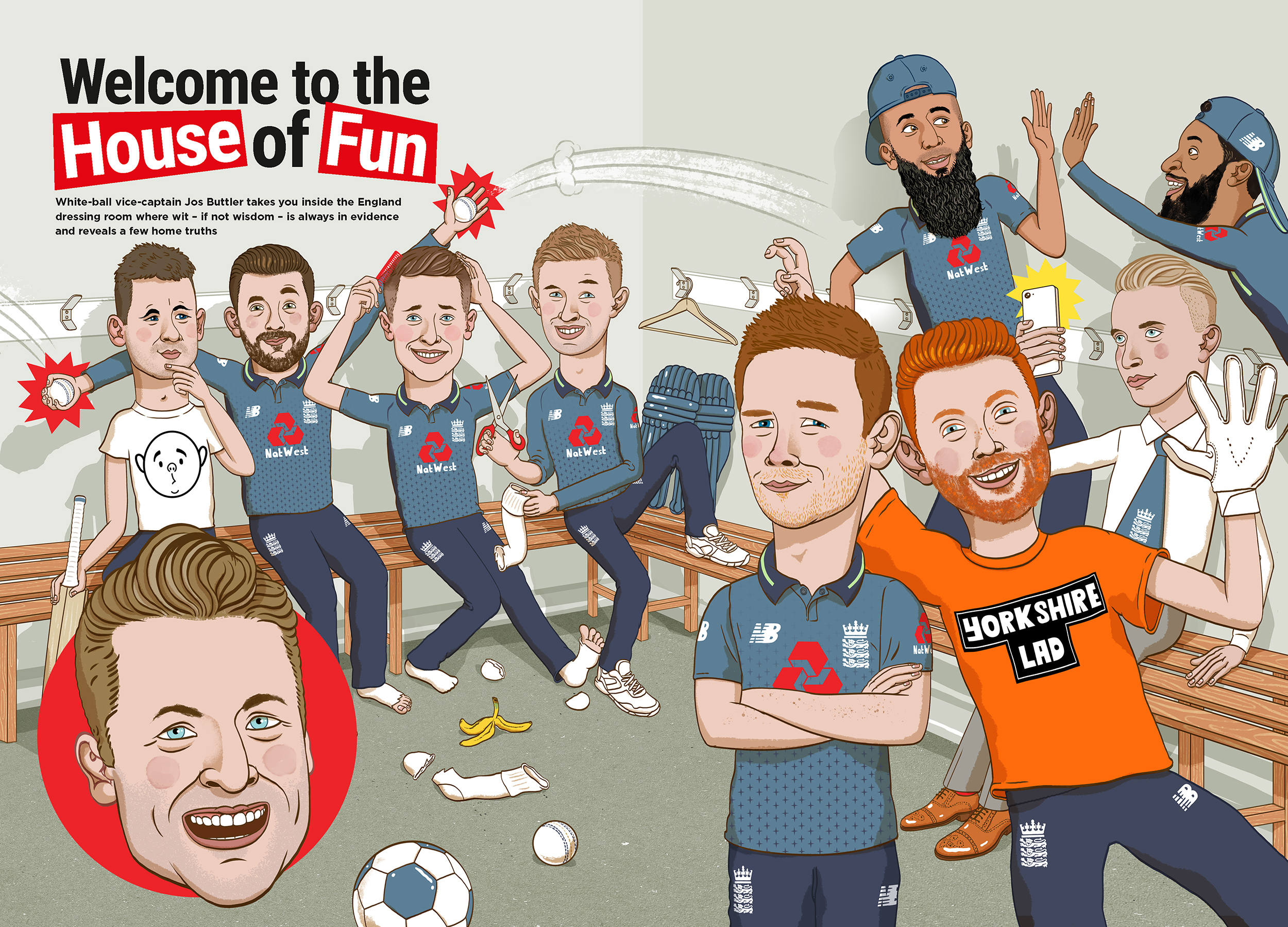 England Cricket Team for the T20 One Day international programmes 2018