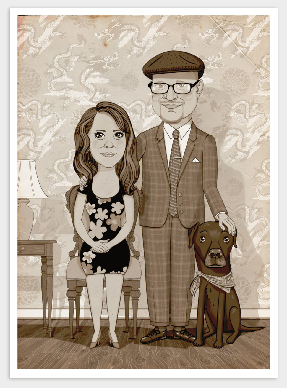 - Private commissions and corporate clients, a selection of family portraits and company employees