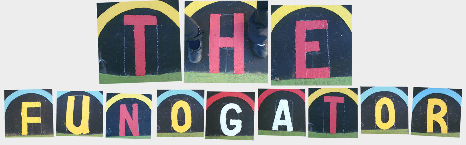 - The Funogator is an activity and learning space designed for Holt Community Primary School. The design includes numerous playground games and activities as well and maths and alphabet games.