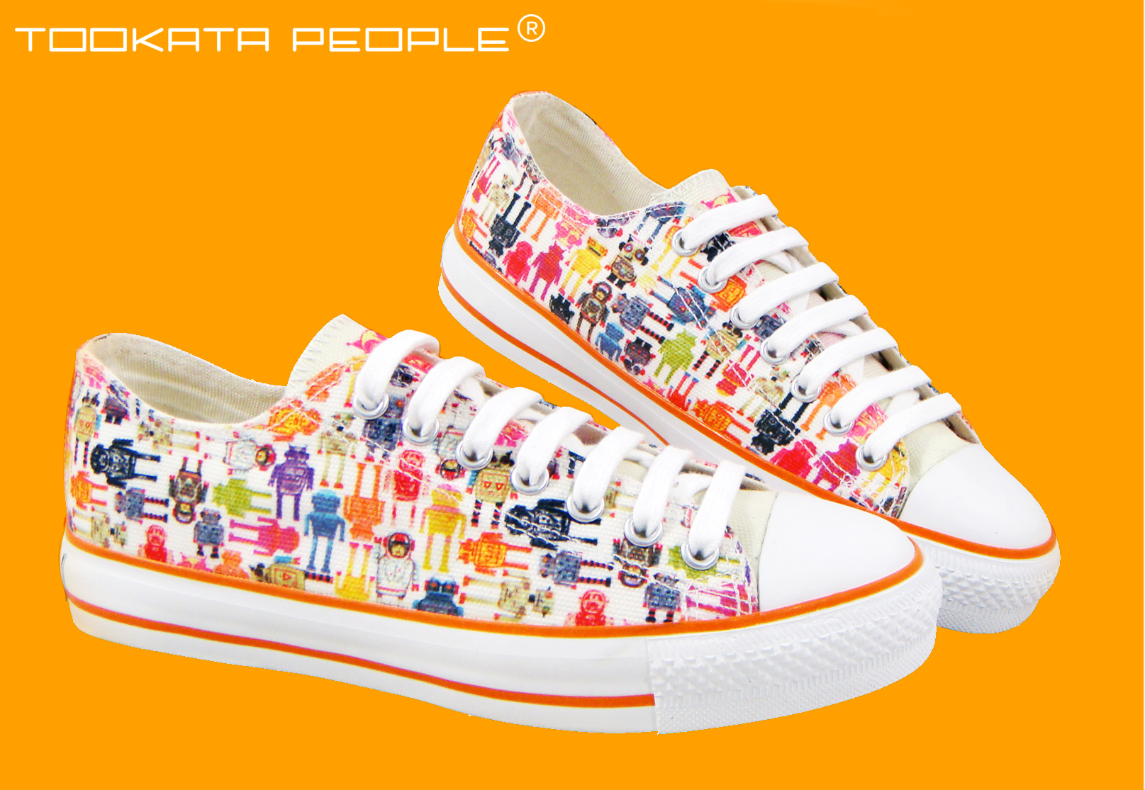 - California based fashion label Tookata People used my surface patterns for their men's and women's range of hi and lo top sneakers for 2 seasons.