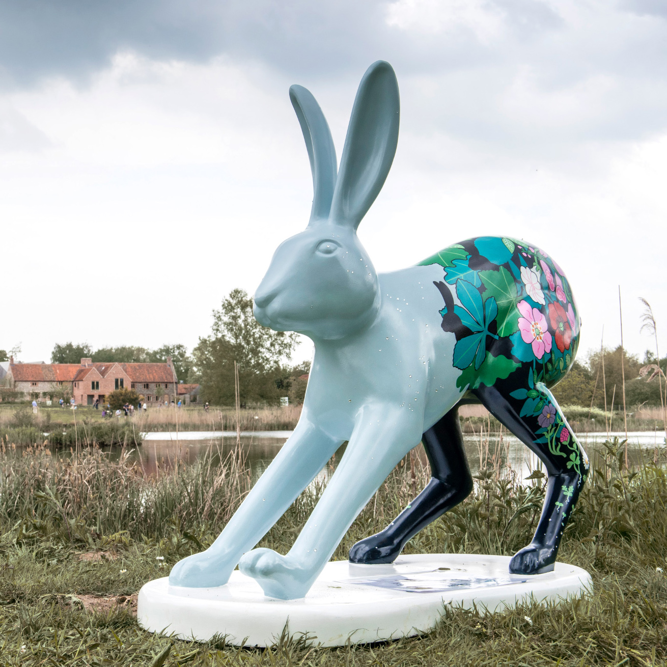 - Go Go Hares sculpture trail and Go Go create leverets are a charity fundraising initiative organised by East Anglian charity BREAK.
