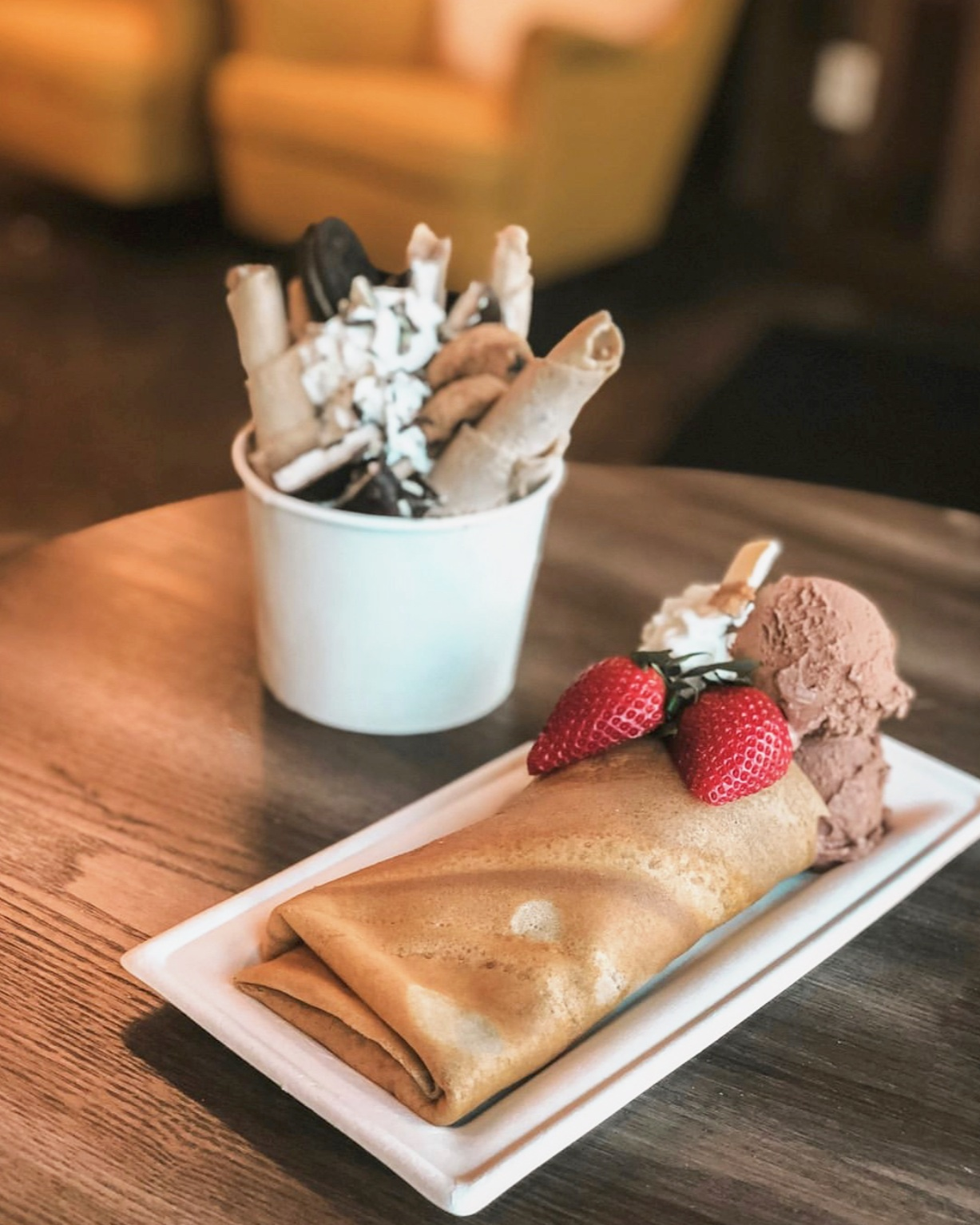 You take care of the fun. Let us take care of the food. - Looking for something fun and unique for your next special event?Discover our catering packages below.LIMITED TIME ONLYNow, enjoy one FREE crepe cake with each package!