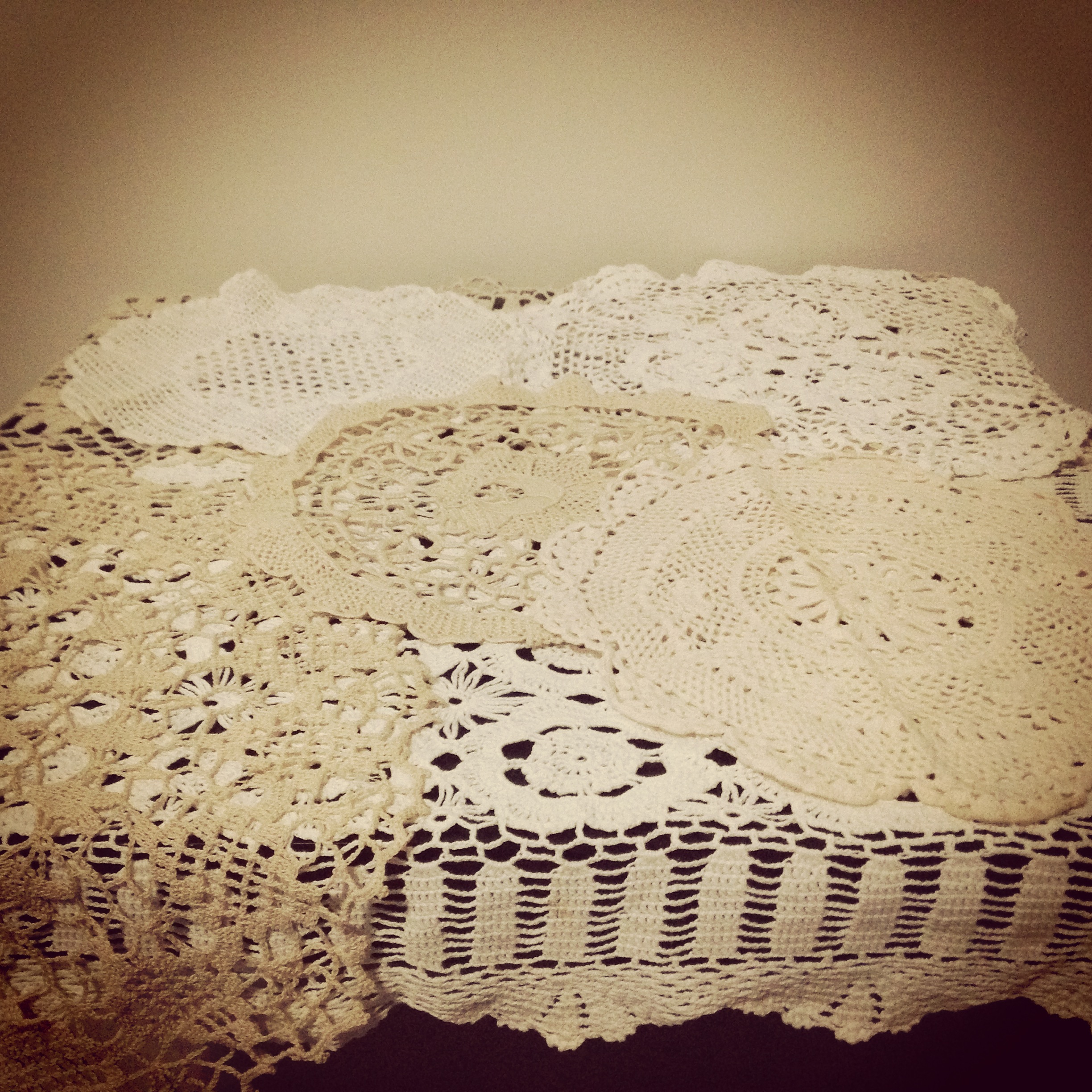 Lace Doilies # From $1 each