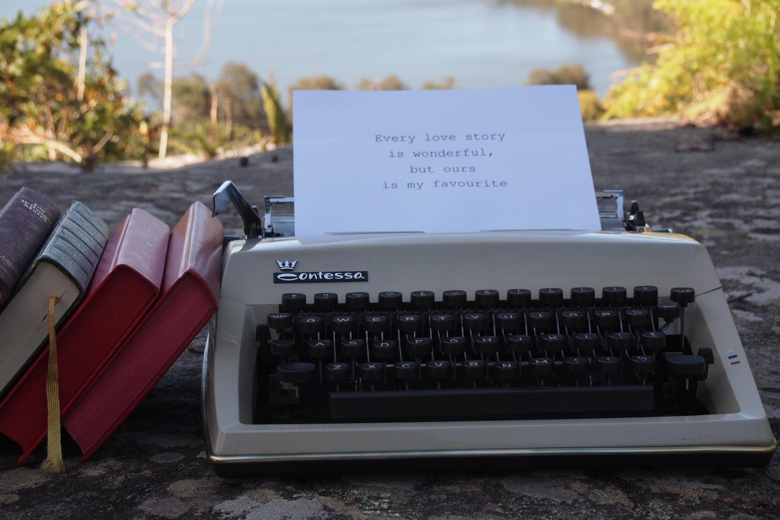 Vintage Typewriter # $15