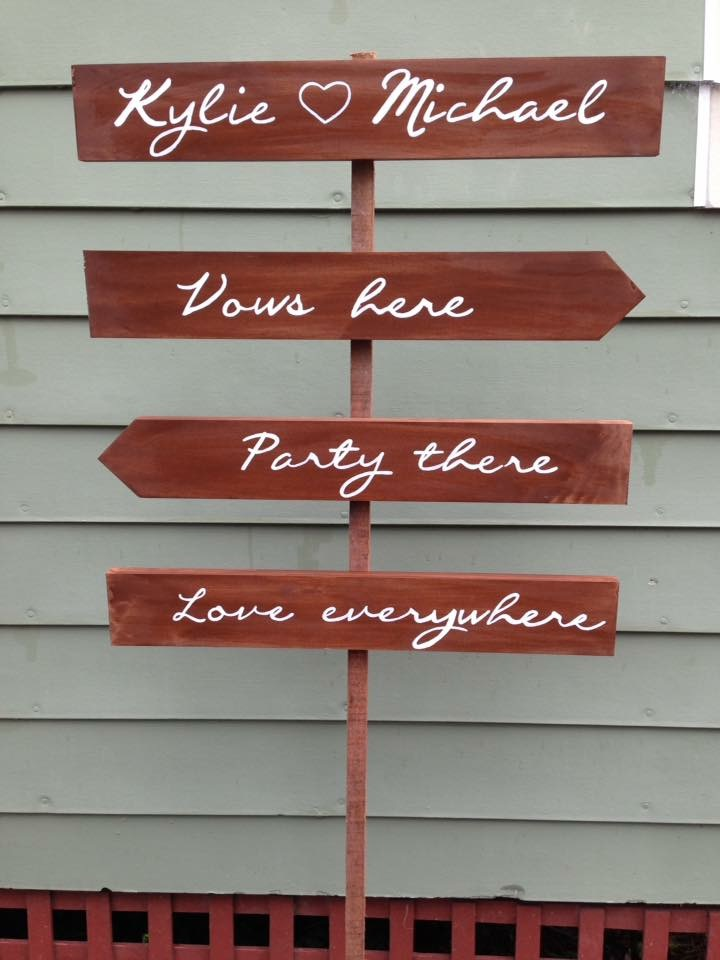 Vows Here Signs