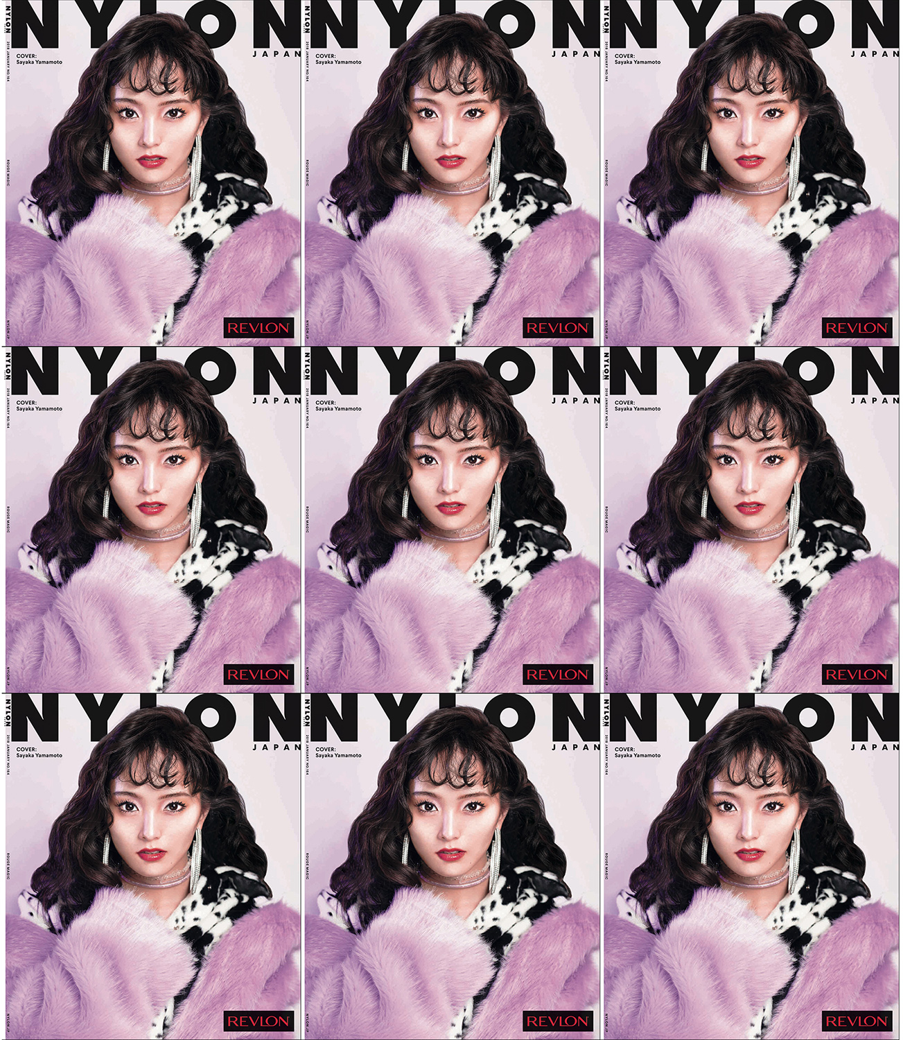 cover story for NYLON & REVLON
