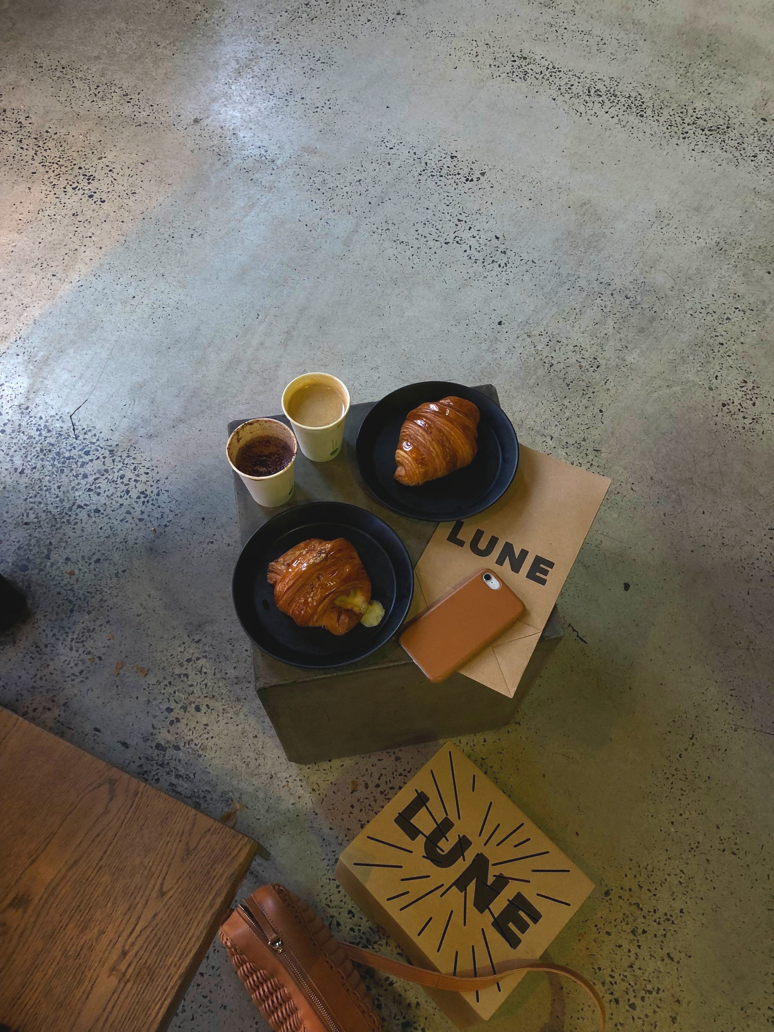 LUNE ▼ /  Lune Croissanterie  coming for the signature croissants here and we are not disappointed! 📍119 Rose St, Fitzroy VIC 3065