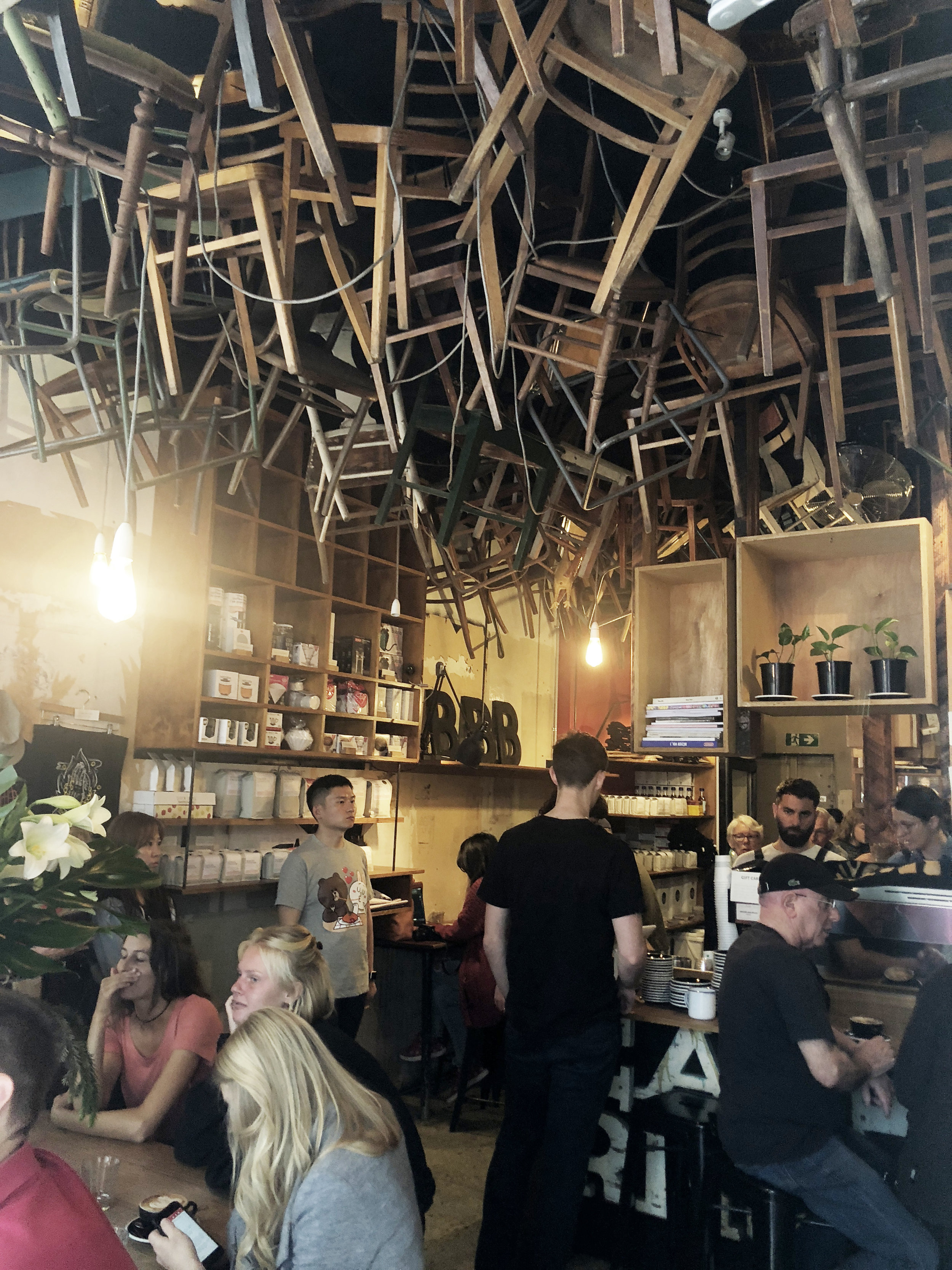 BROTHER BABA BUDAN / Brother Baba Budan   A very very busy and small coffee shop along little bourke street. Hard for any photos inside but would really recommend its coffee! 📍359 Little Bourke St, Melbourne VIC