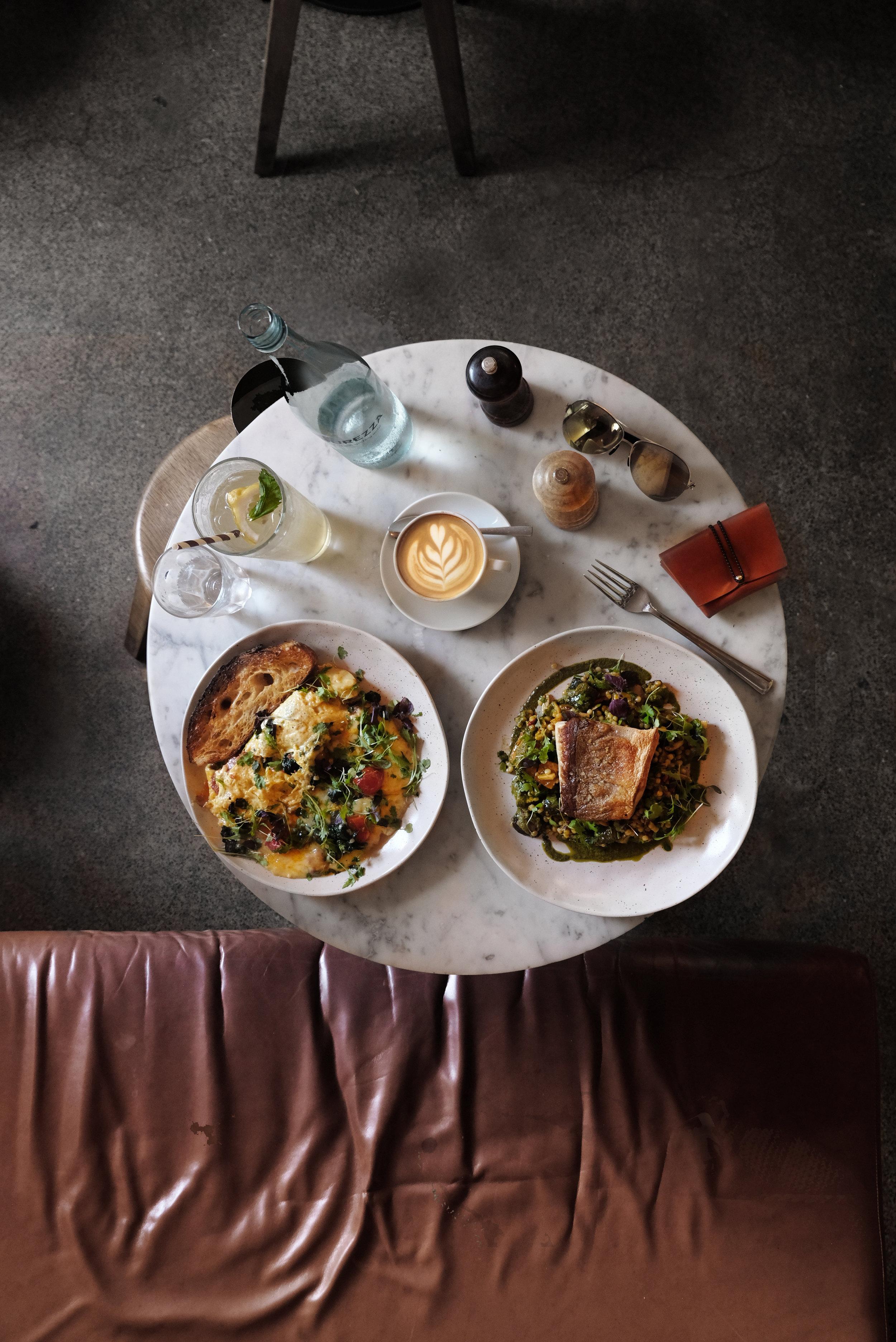 T H R E E. W I L L I A M S . /  Three Williams    澳州的咖啡店大部分都提供豐富的食物餐點 這個Spanish omelette 好吃得無話可說 . /Spanish omelette with cheese and chorizo / Grilled kingfish, Israeli cous cous with roasted vegetables and almonds  https://www.instagram.com/p/BssrGnNlrV2/?utm_source=ig_web_button_share_sheet  📍613A Elizabeth St, Redfern