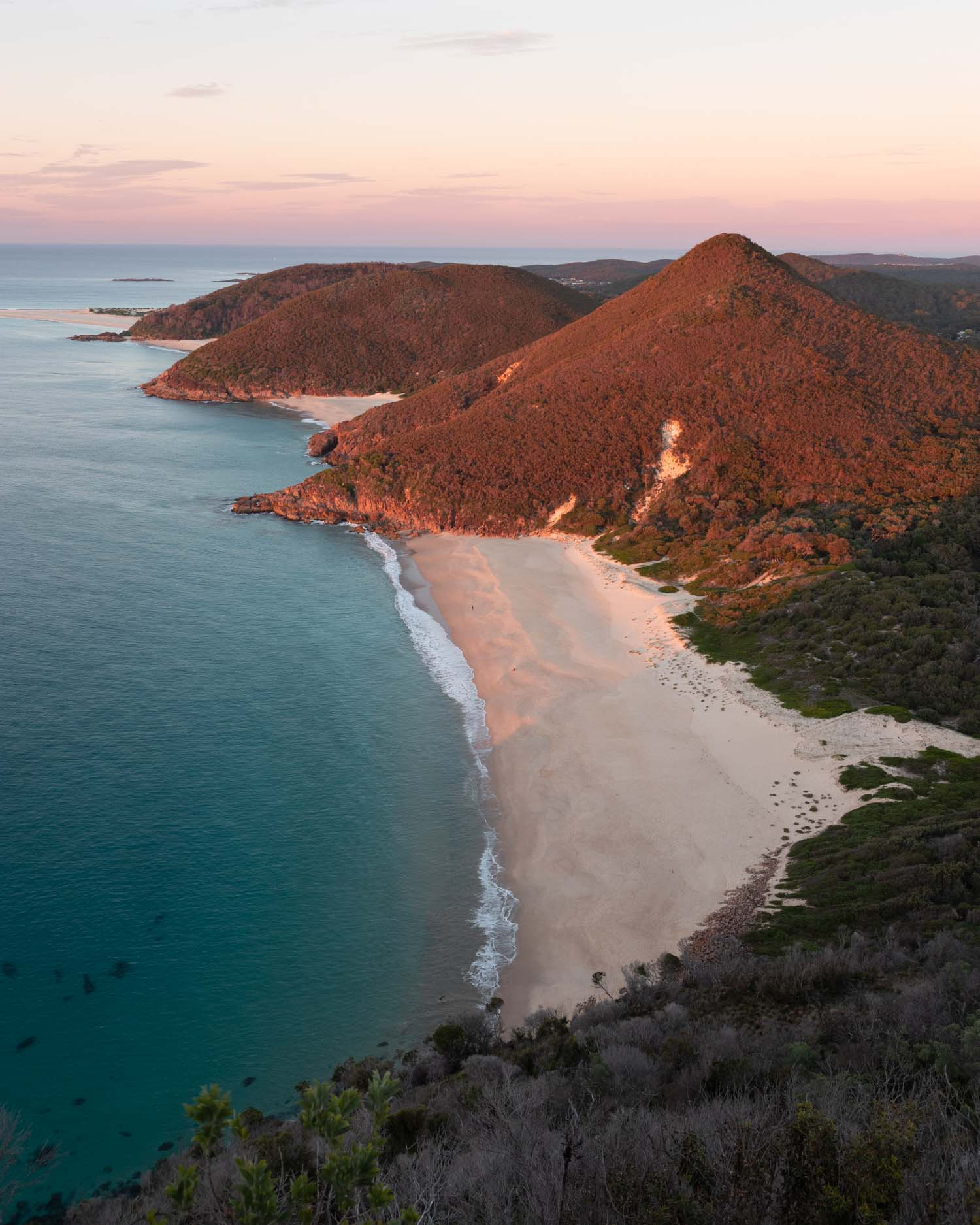 Sunrise from Tomaree Headland
