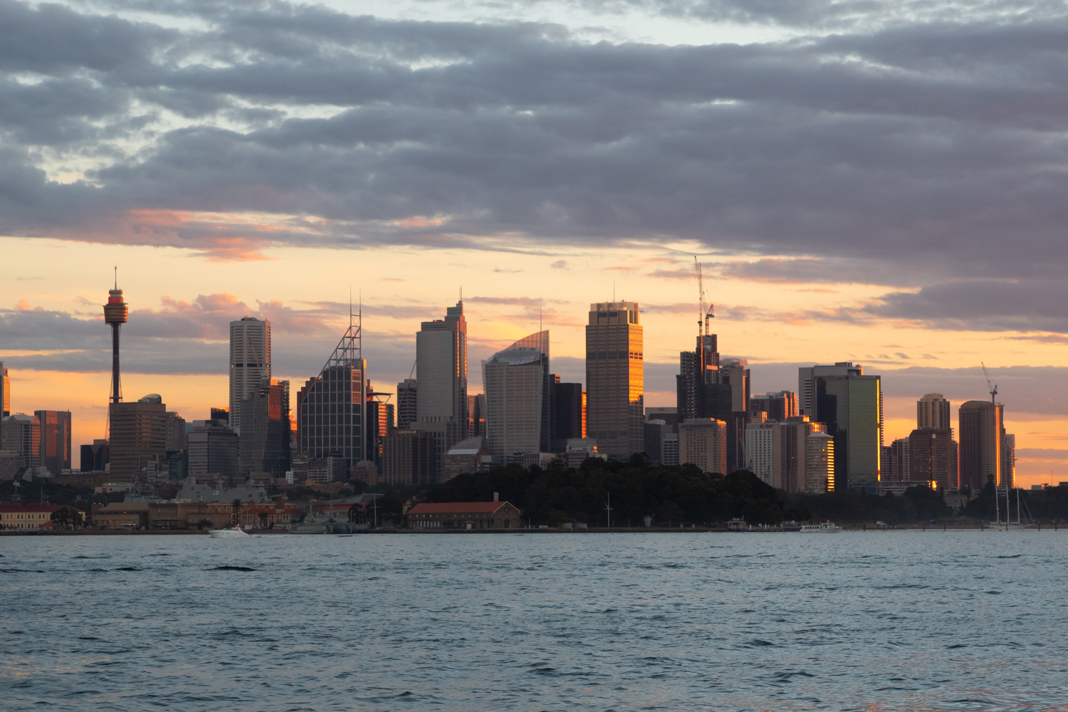 Sydney City from the Harbour