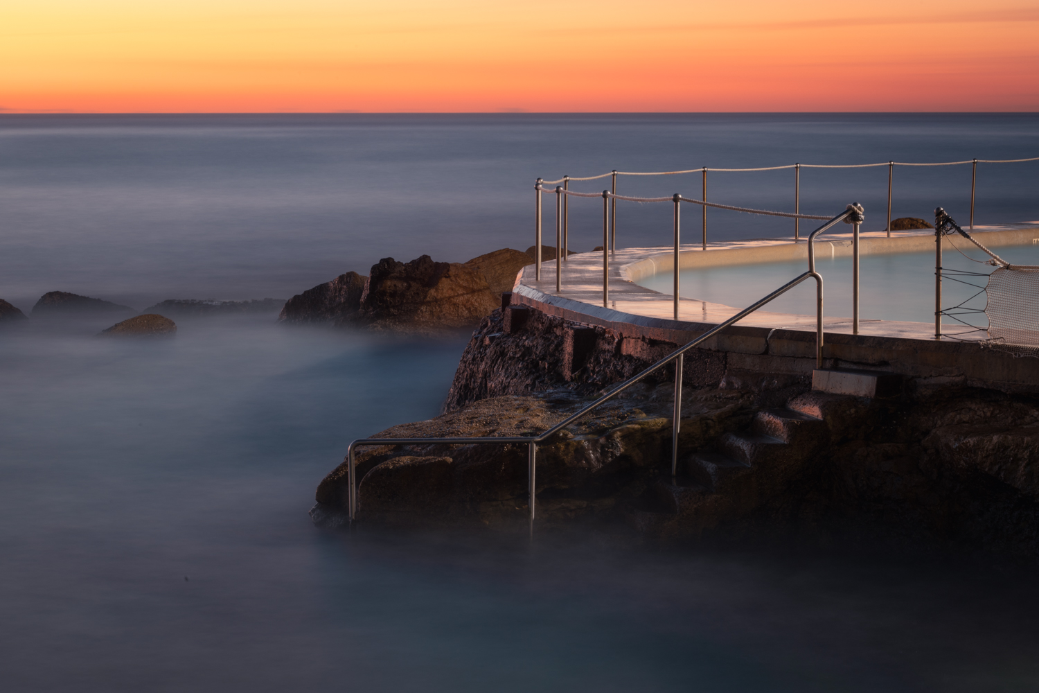 Bronte Baths Sunrise