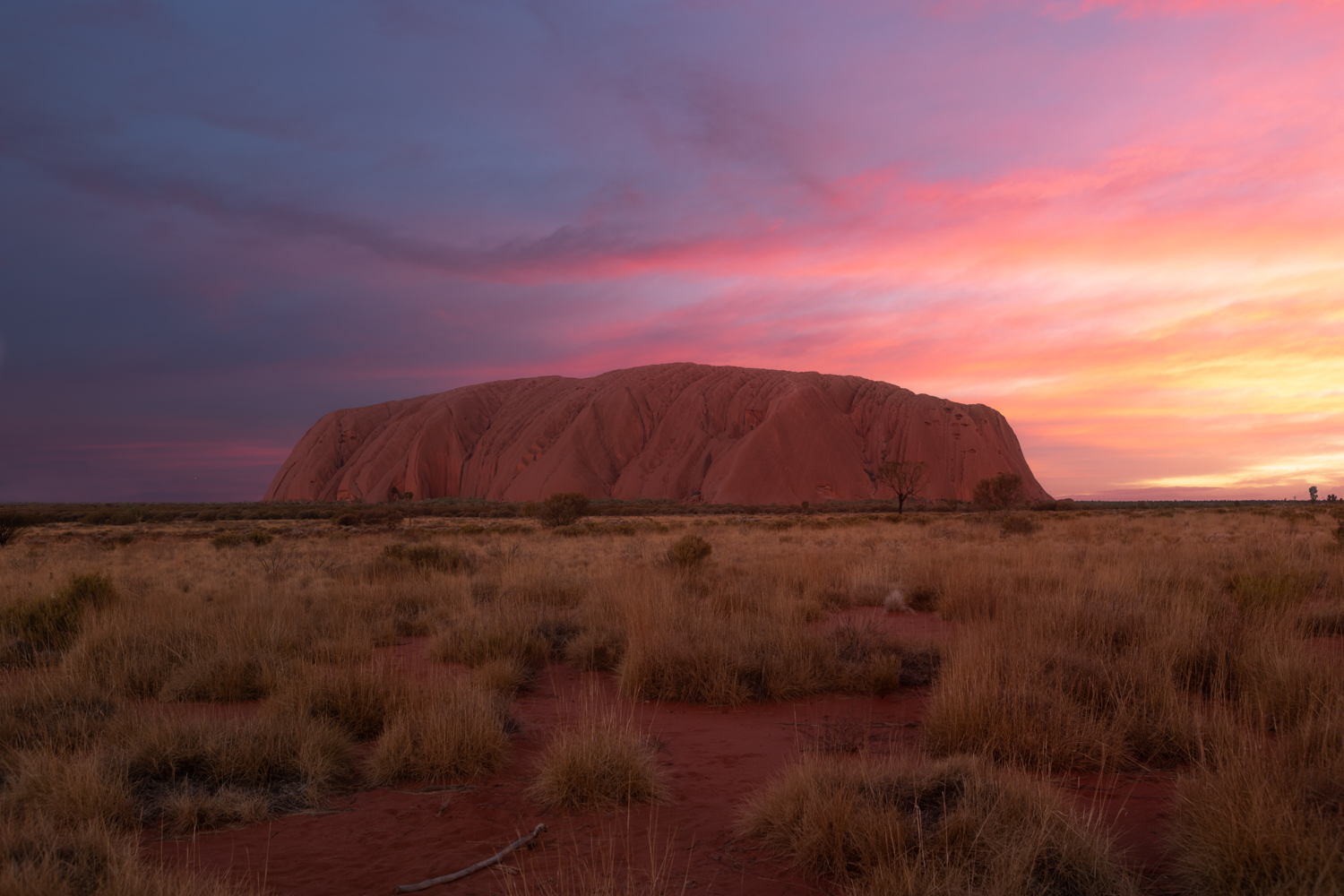 Sunset at Uluru