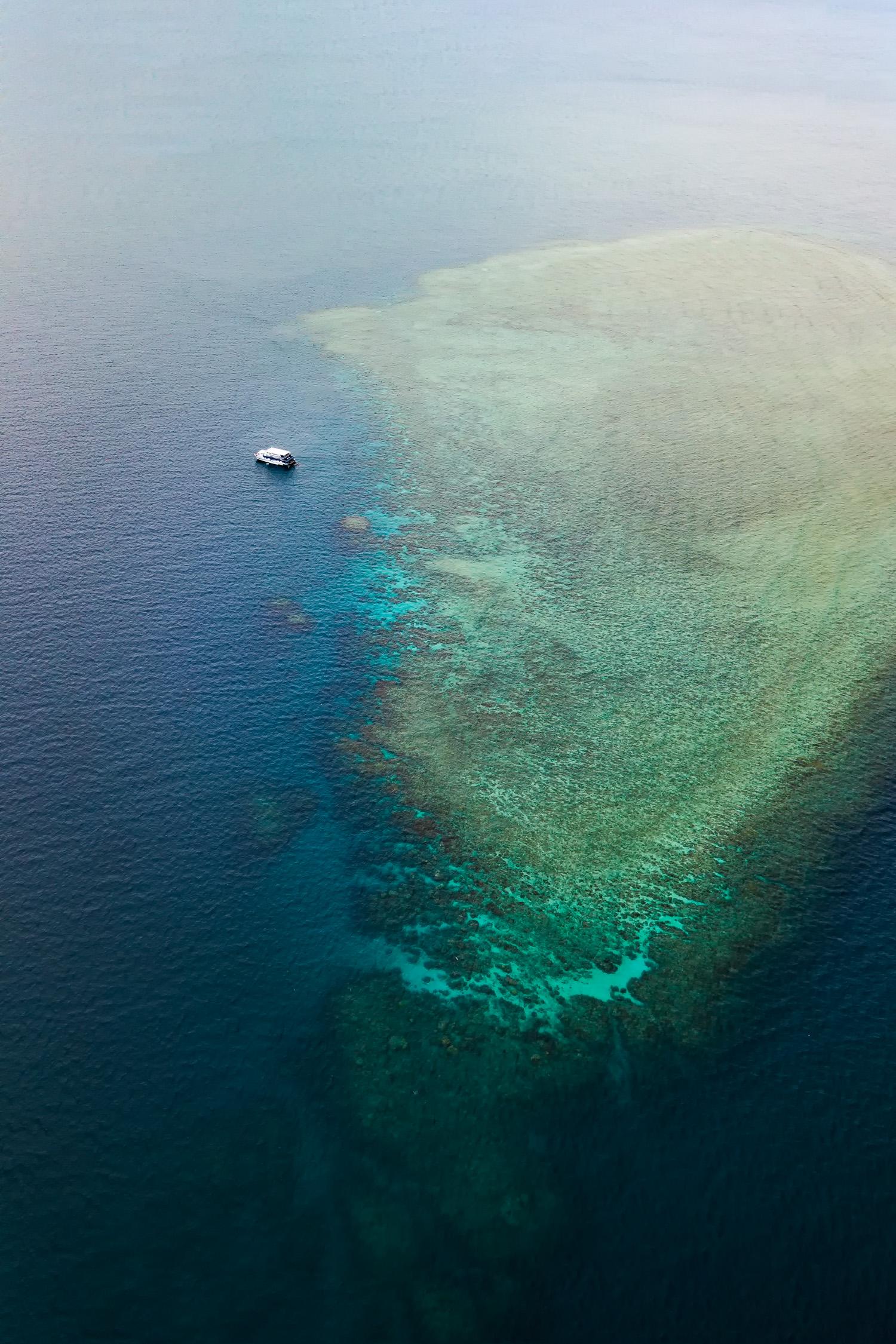 Saxon Reef Aerial