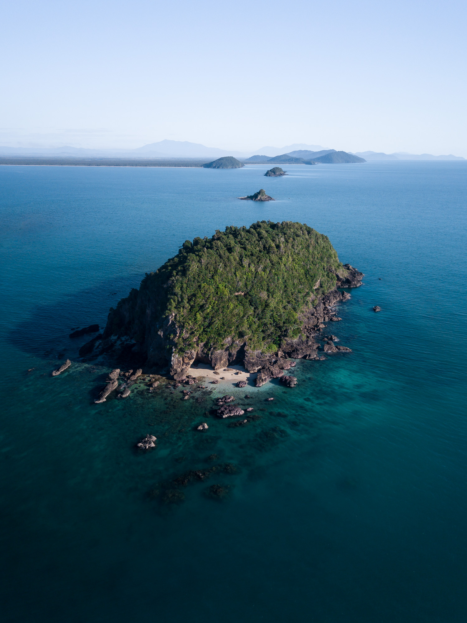 Jessie Island Aerial