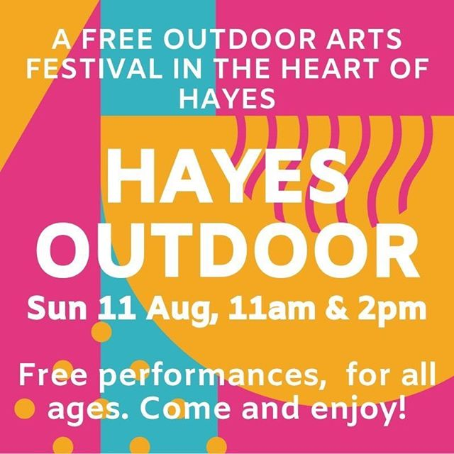 We are back! So delighted and excited to announce we'll be putting on a one-day festival of #free #outdoorarts on Botwell Green on Sun 11 Aug. Loads of great acts, check out our website to find out more! #hayes #hillingdon #free #arts #culture #events #circulateldn #golocal #outdoorartsuk