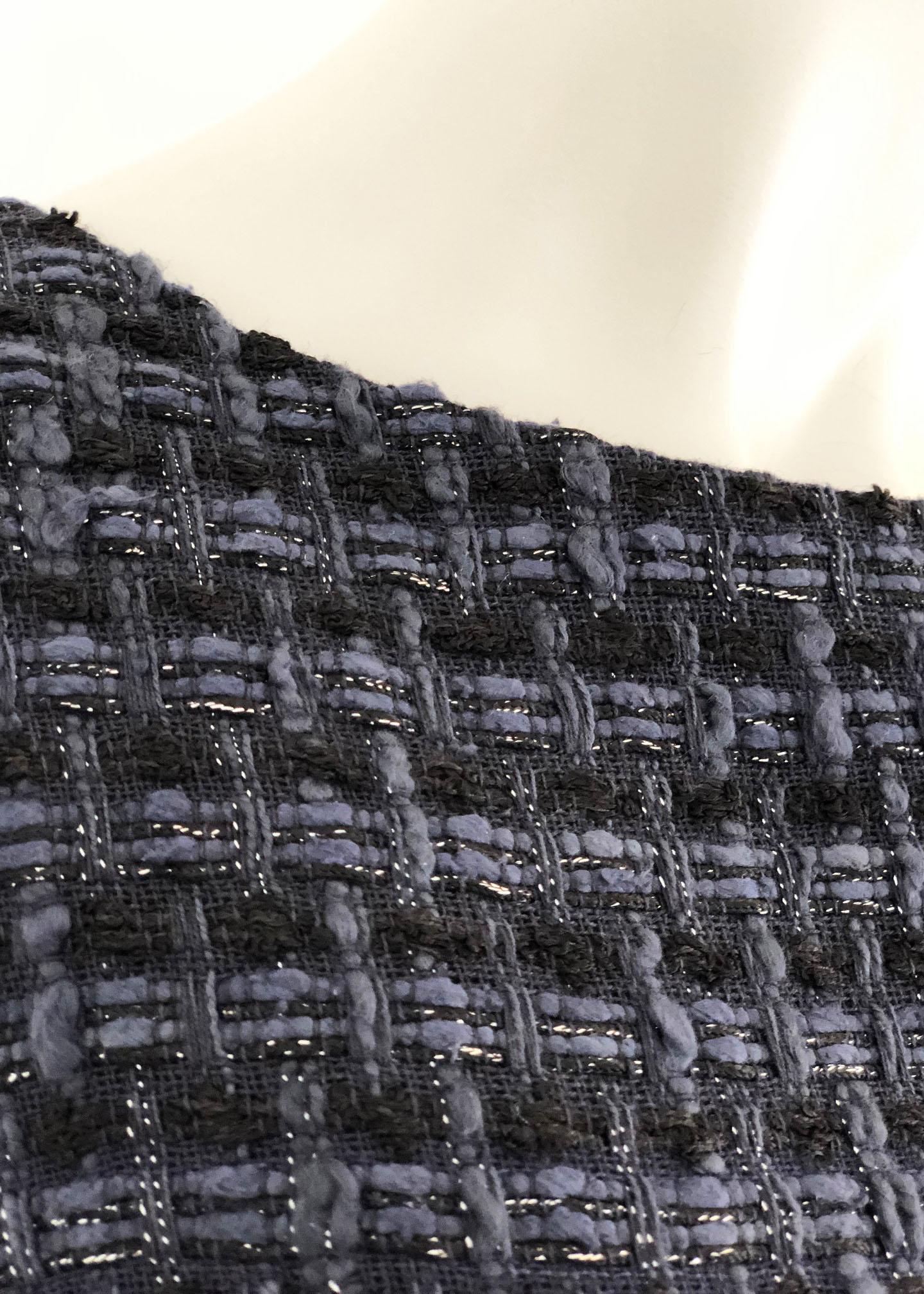 Robe en tweed