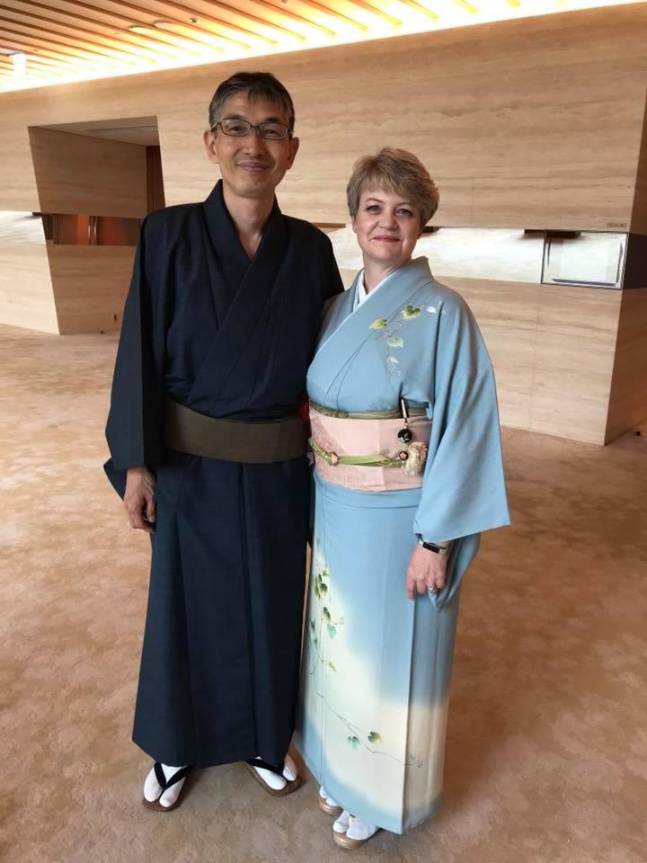 My dear supportive husband, Masa Nakamichi