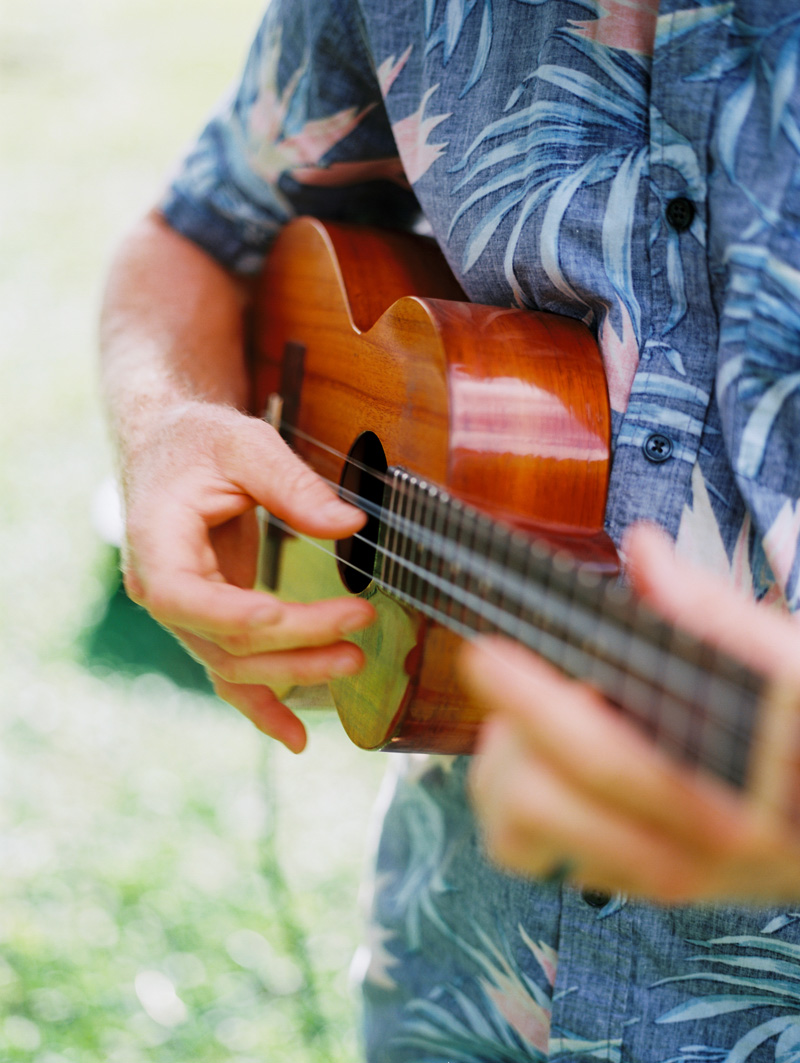 Ukulele wedding music | Hawaii wedding traditions | Luxury destination wedding planner | Unveiled Hawaii