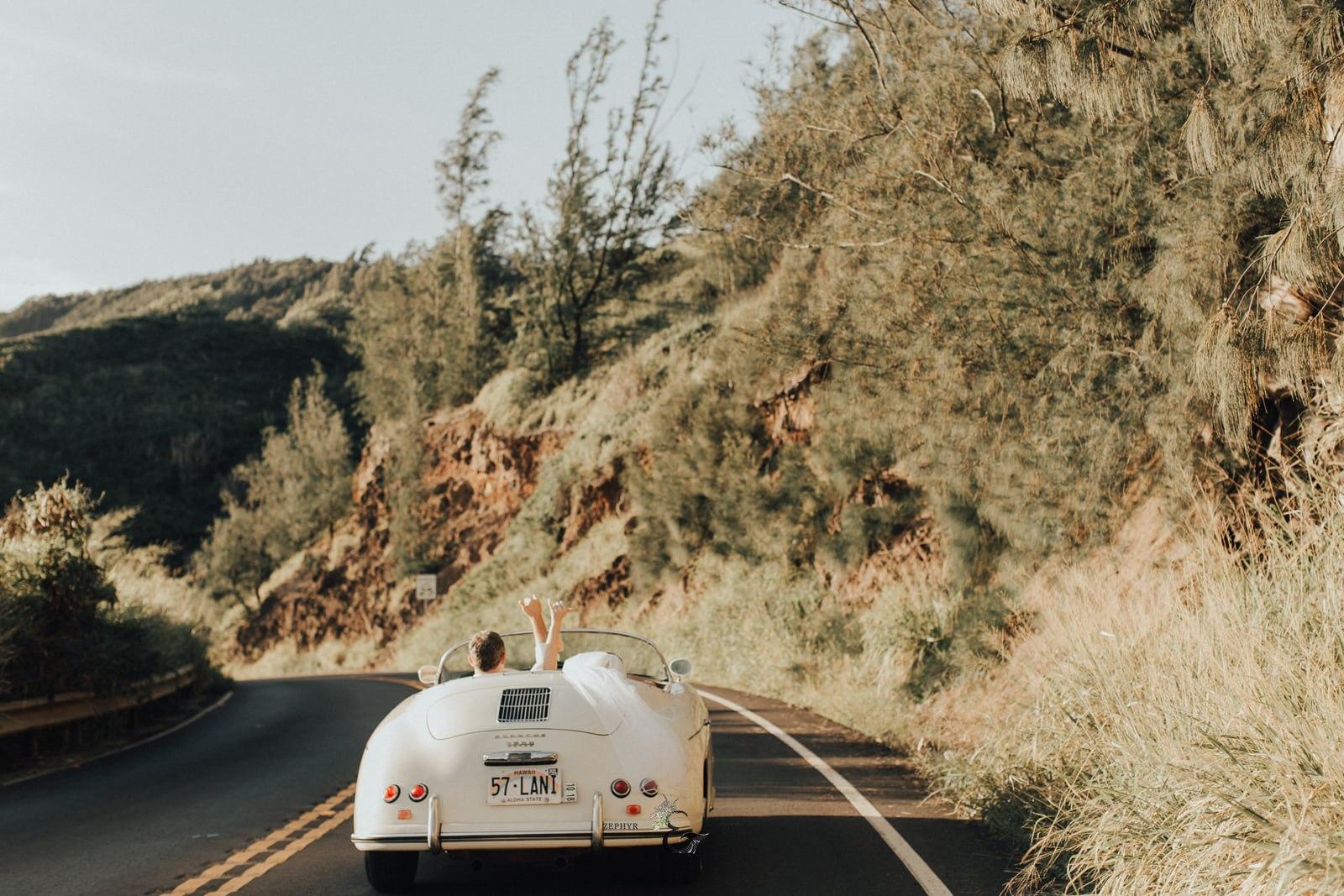 Maui Wedding Car | Destination Wedding and Honeymoon | Luxury destination wedding planner | Unveiled Hawaii