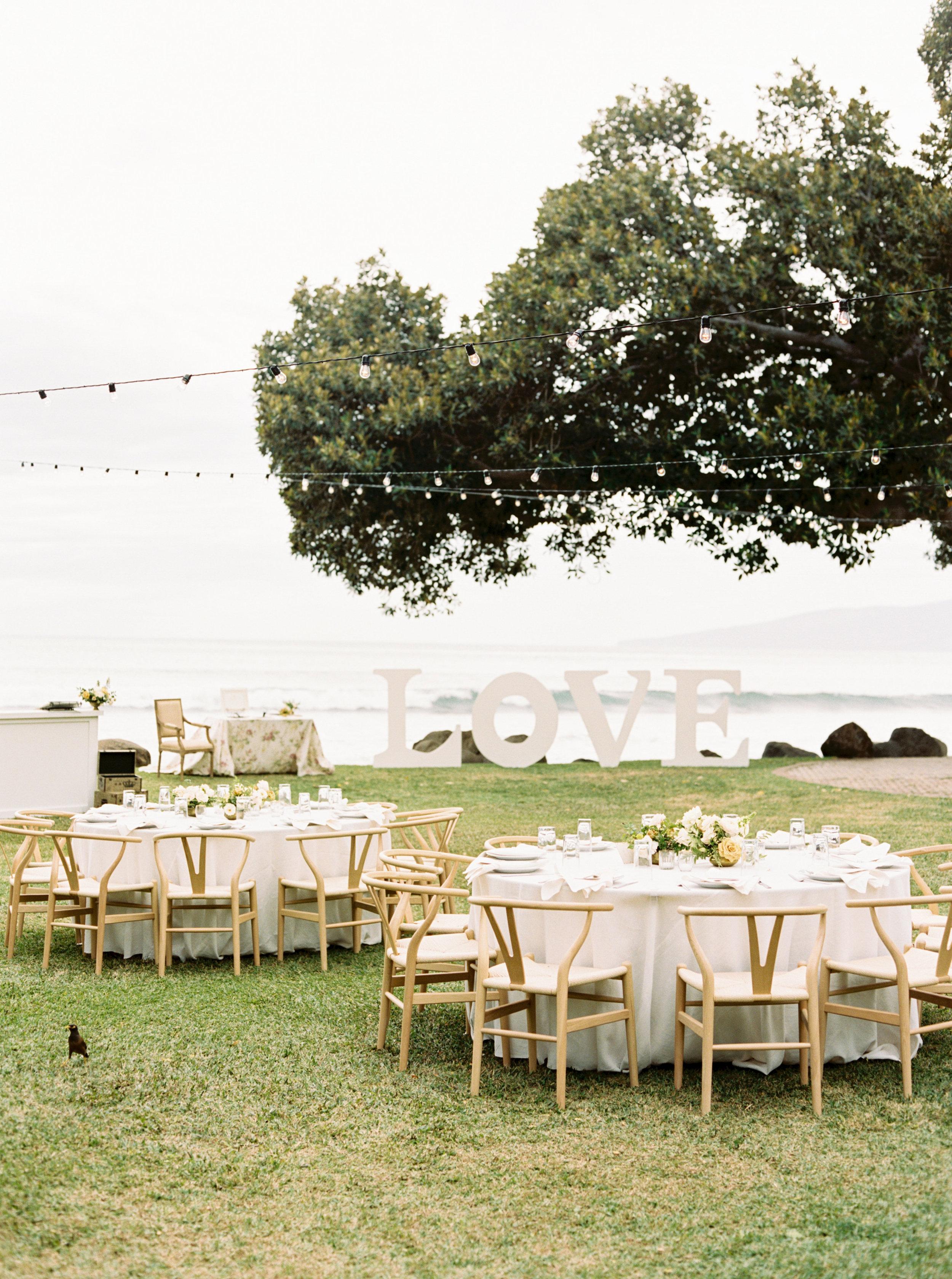 Maui Wedding Reception | Olowalu Plantation House | Luxury Destination Wedding Planner | Unveiled Hawaii